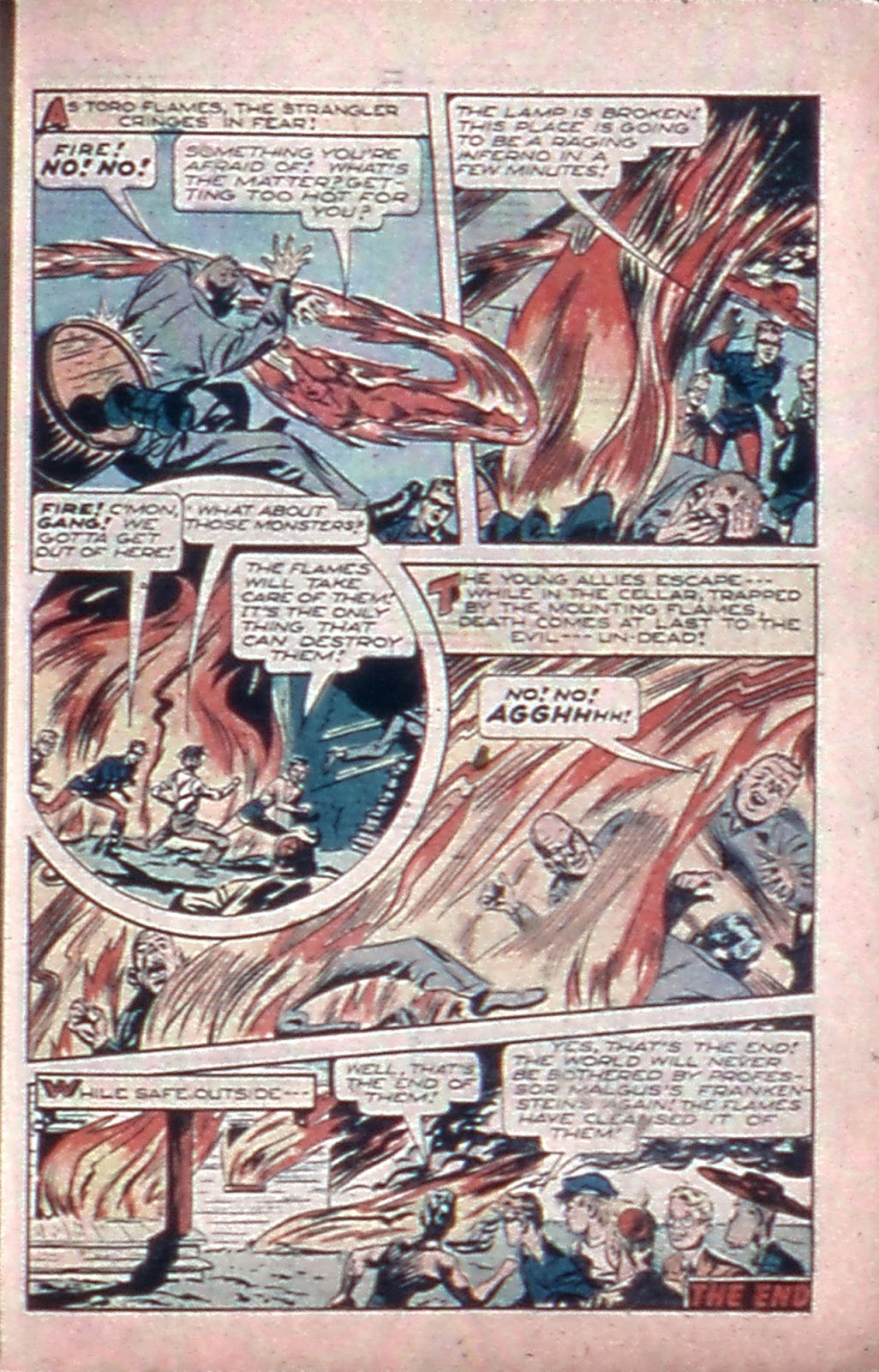 Read online Mystic Comics (1944) comic -  Issue #4 - 23