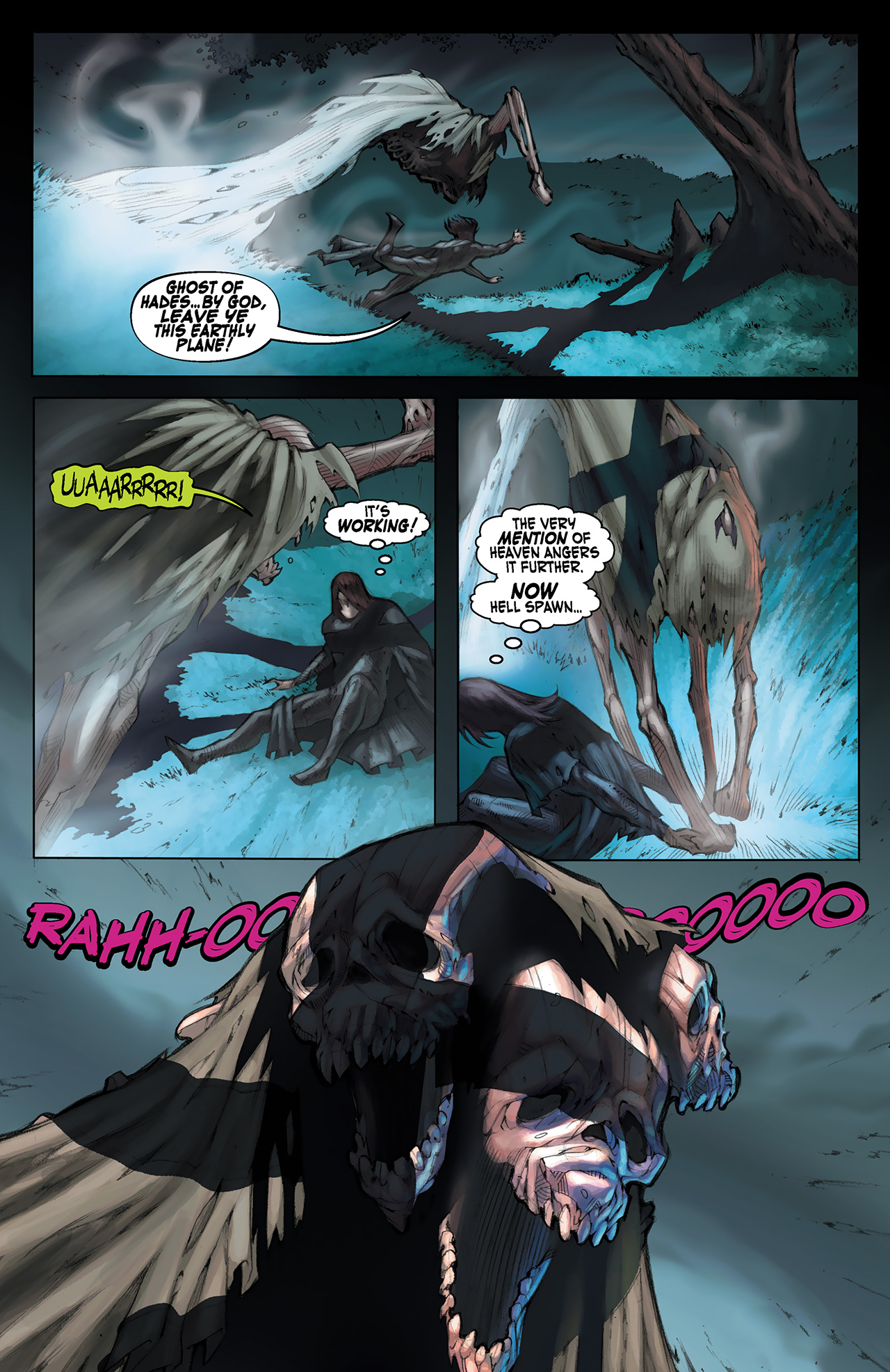Read online Solomon Kane: Red Shadows comic -  Issue #1 - 14