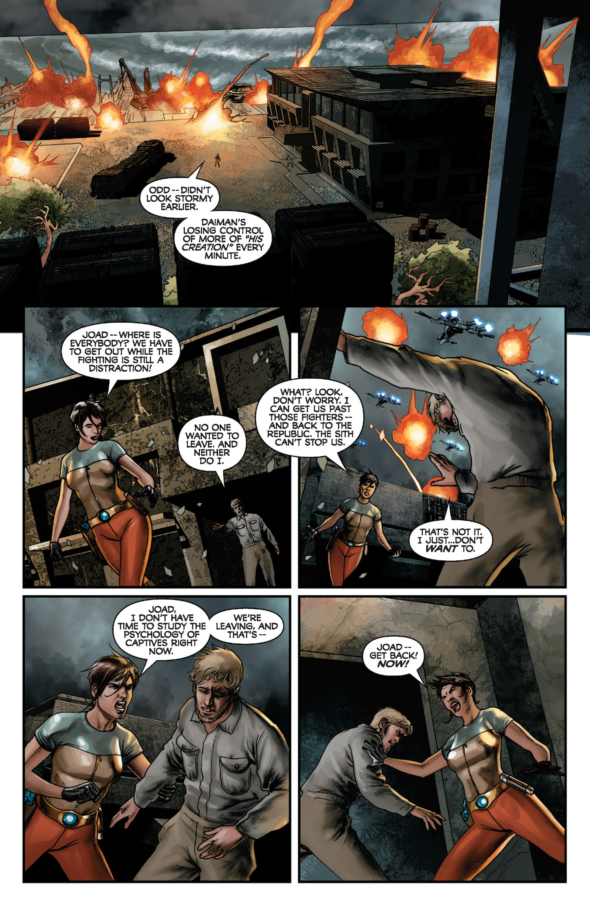Read online Star Wars: Knight Errant - Deluge comic -  Issue #1 - 11