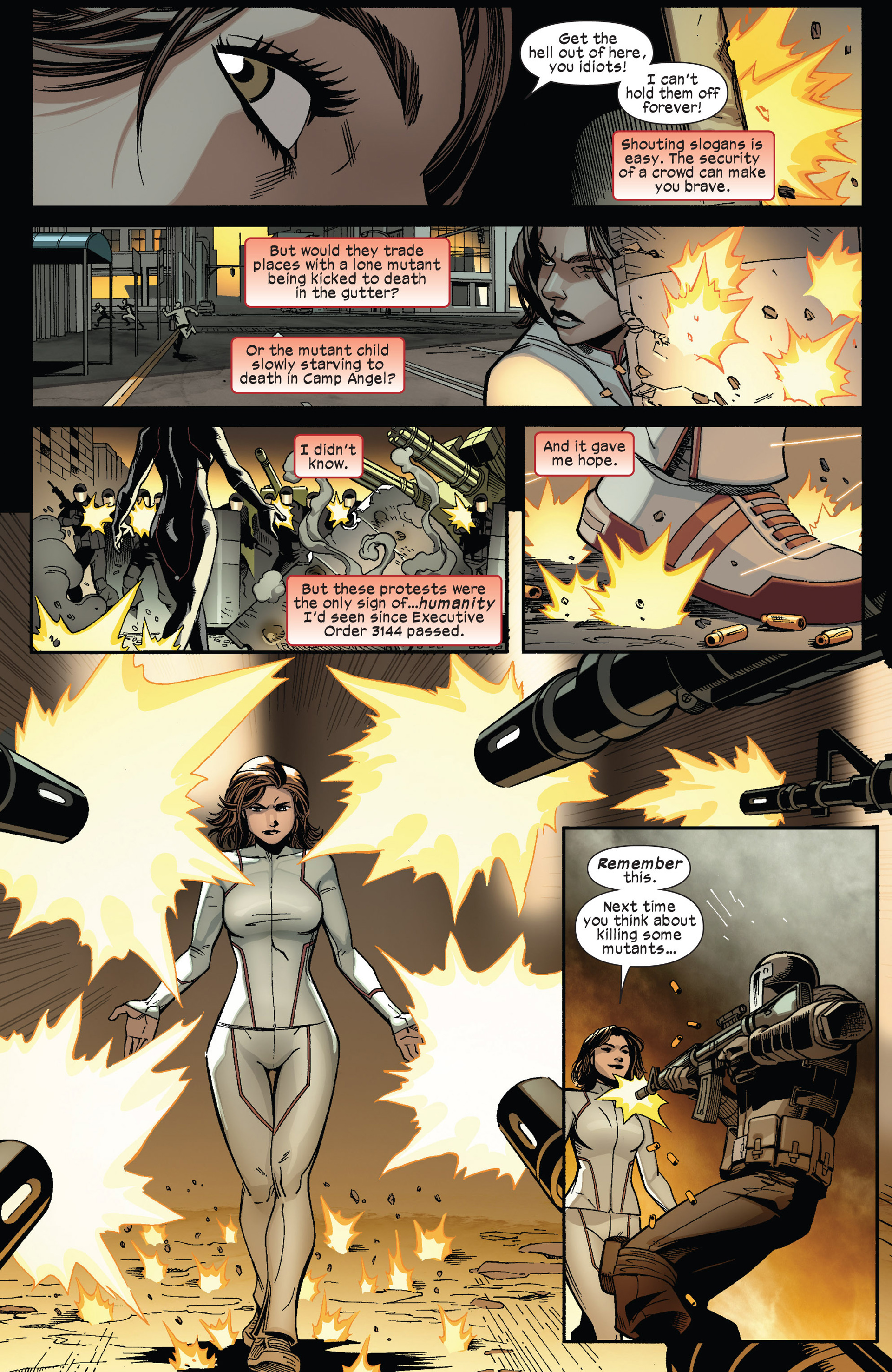 Read online Ultimate Comics X-Men comic -  Issue #13 - 12