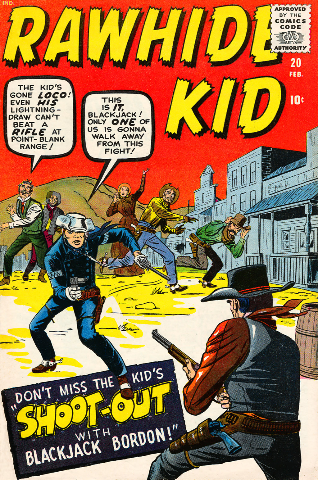 The Rawhide Kid (1955) issue 20 - Page 1