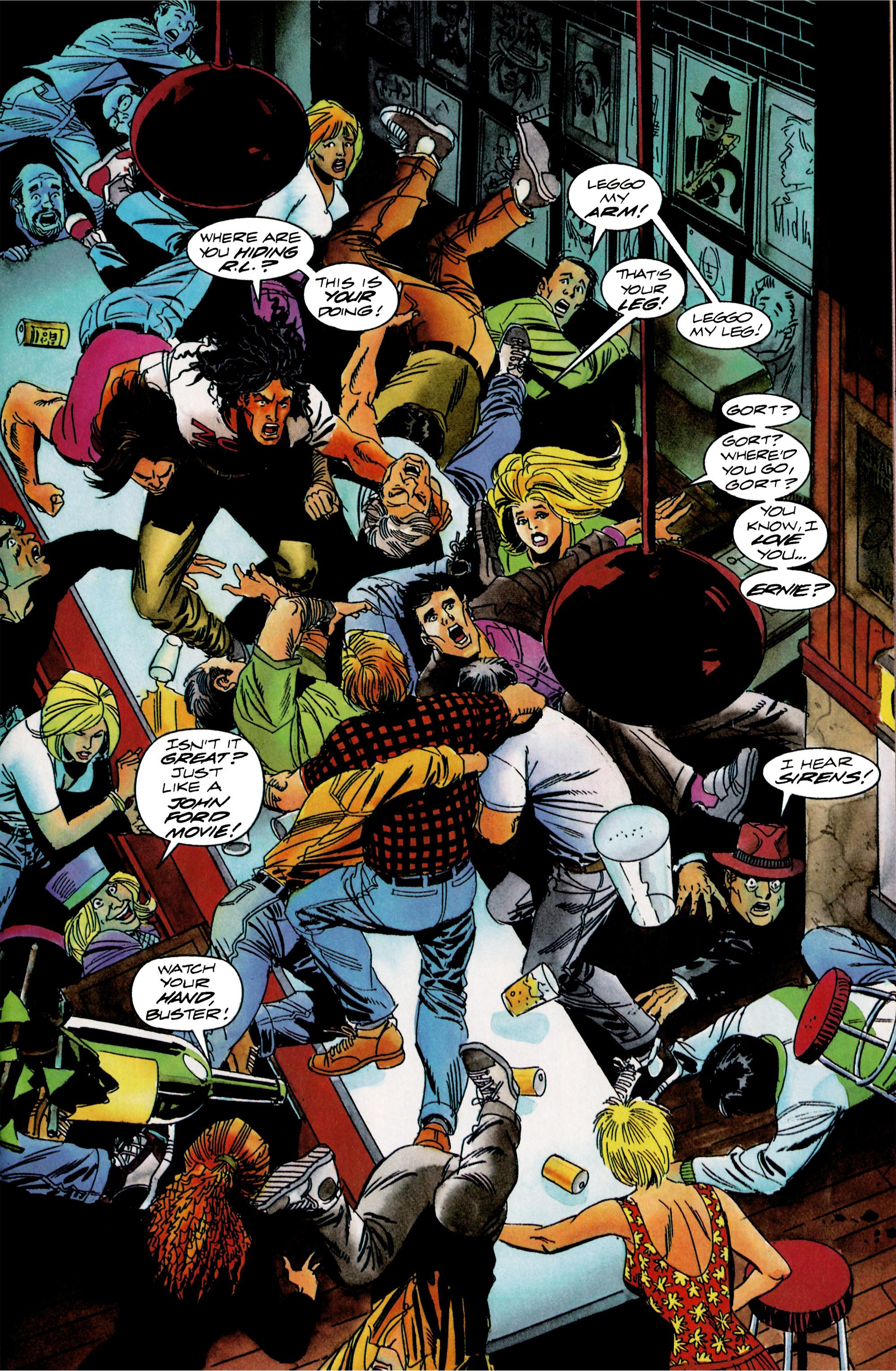Read online Shadowman (1992) comic -  Issue #15 - 11