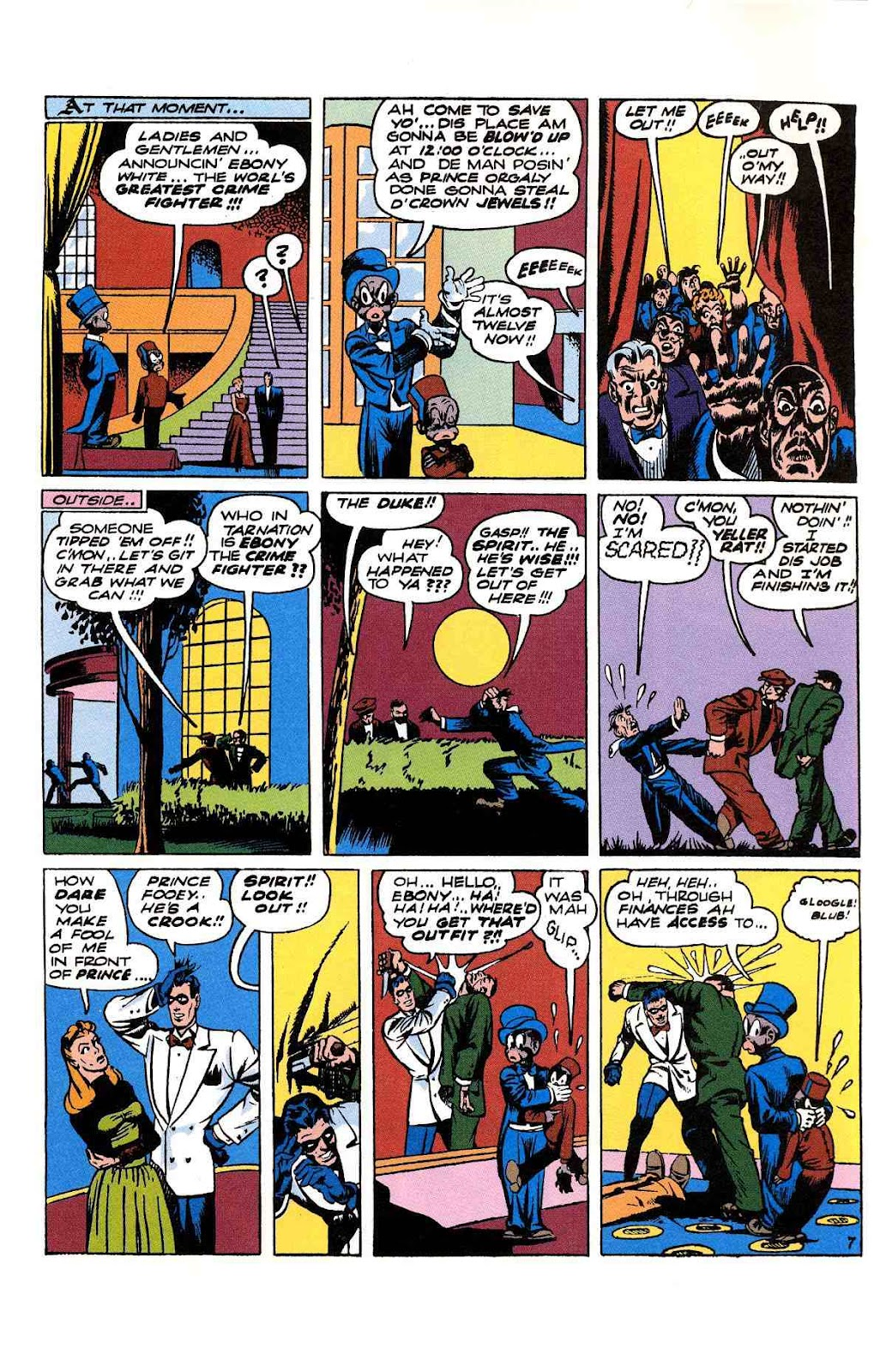Read online Will Eisner's The Spirit Archives comic -  Issue # TPB 2 (Part 2) - 107