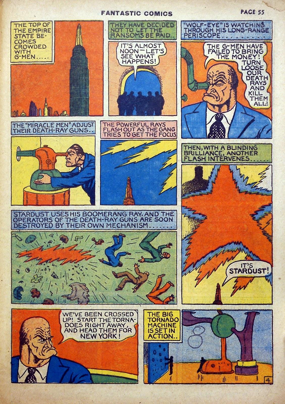 Read online Fantastic Comics comic -  Issue #5 - 56