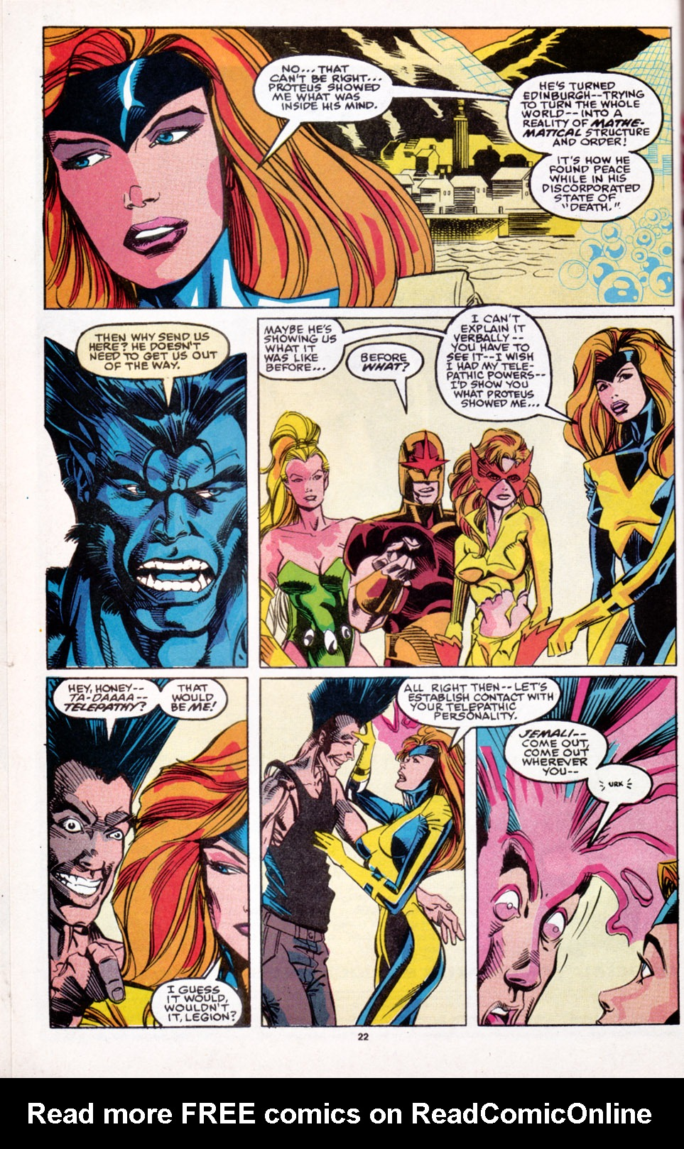 Read online X-Factor (1986) comic -  Issue # _ Annual 6 - 19