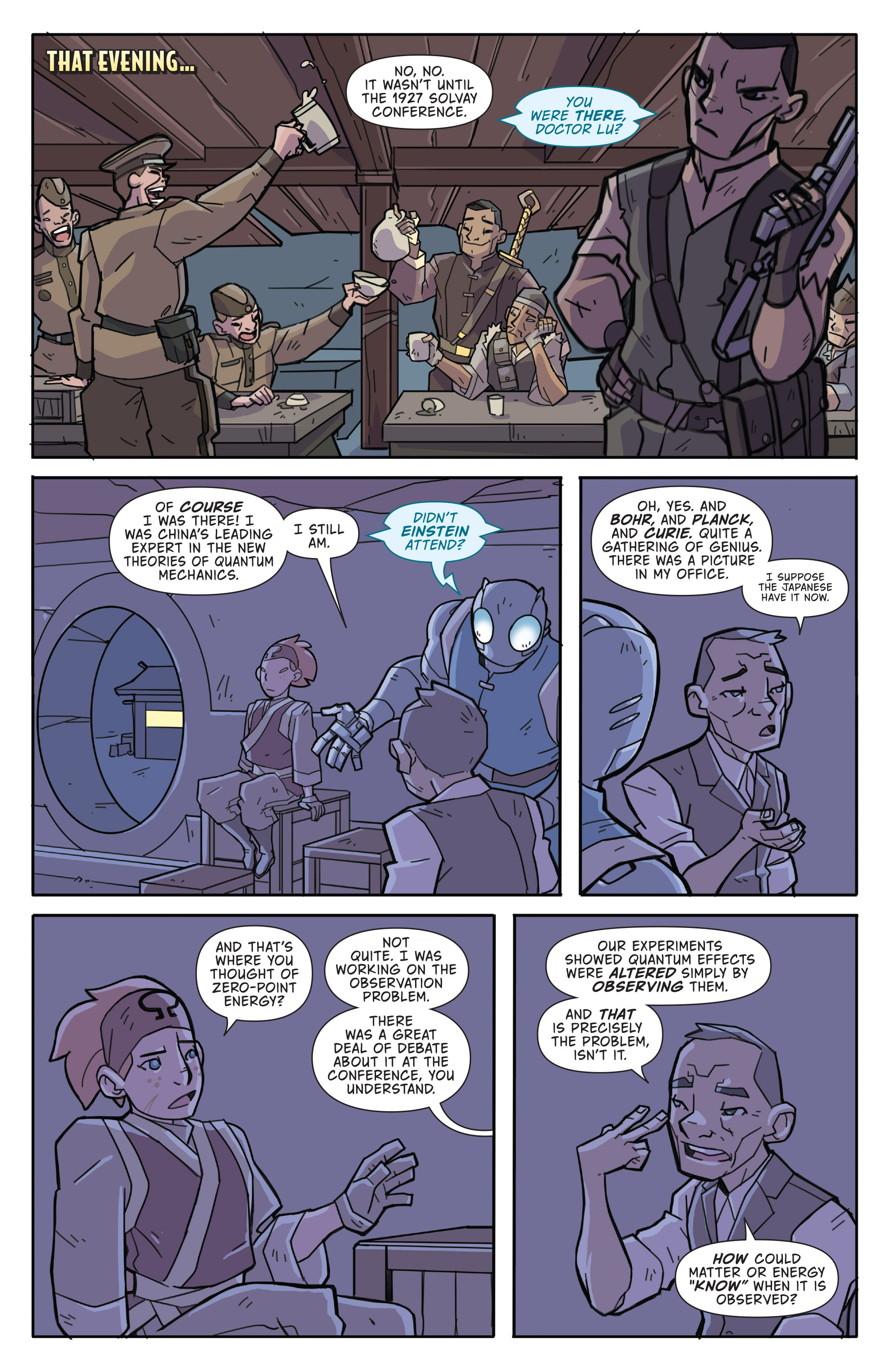 Read online Atomic Robo and the Temple of Od comic -  Issue #3 - 13