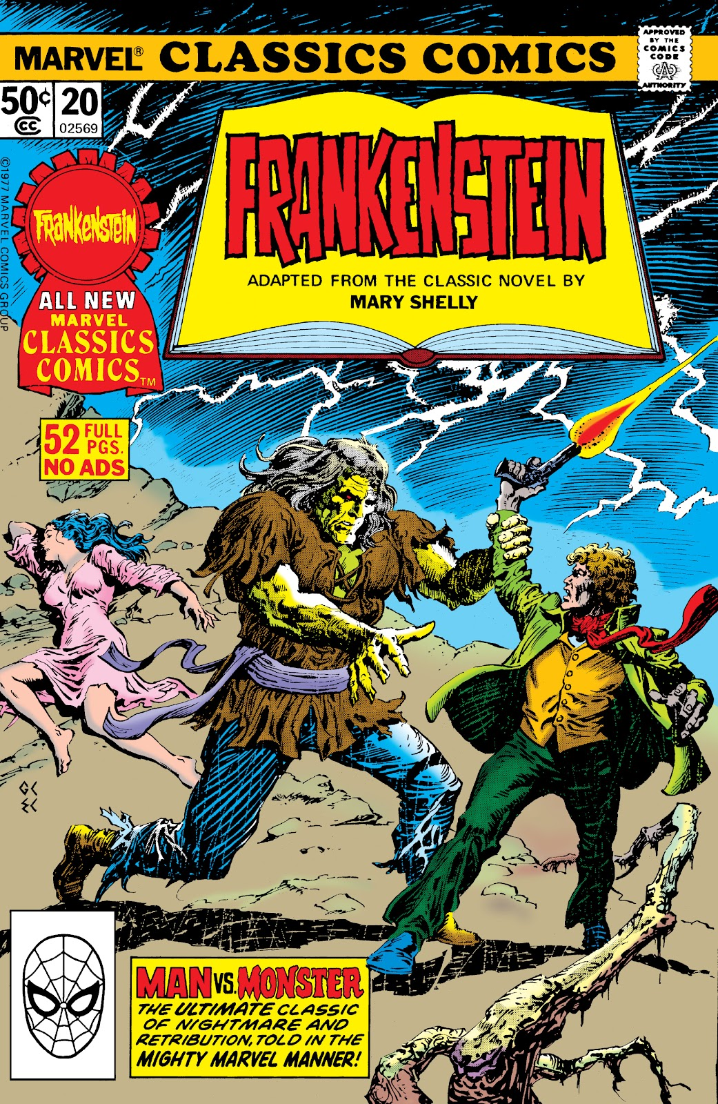 Marvel Classics Comics Series Featuring issue 20 - Page 1