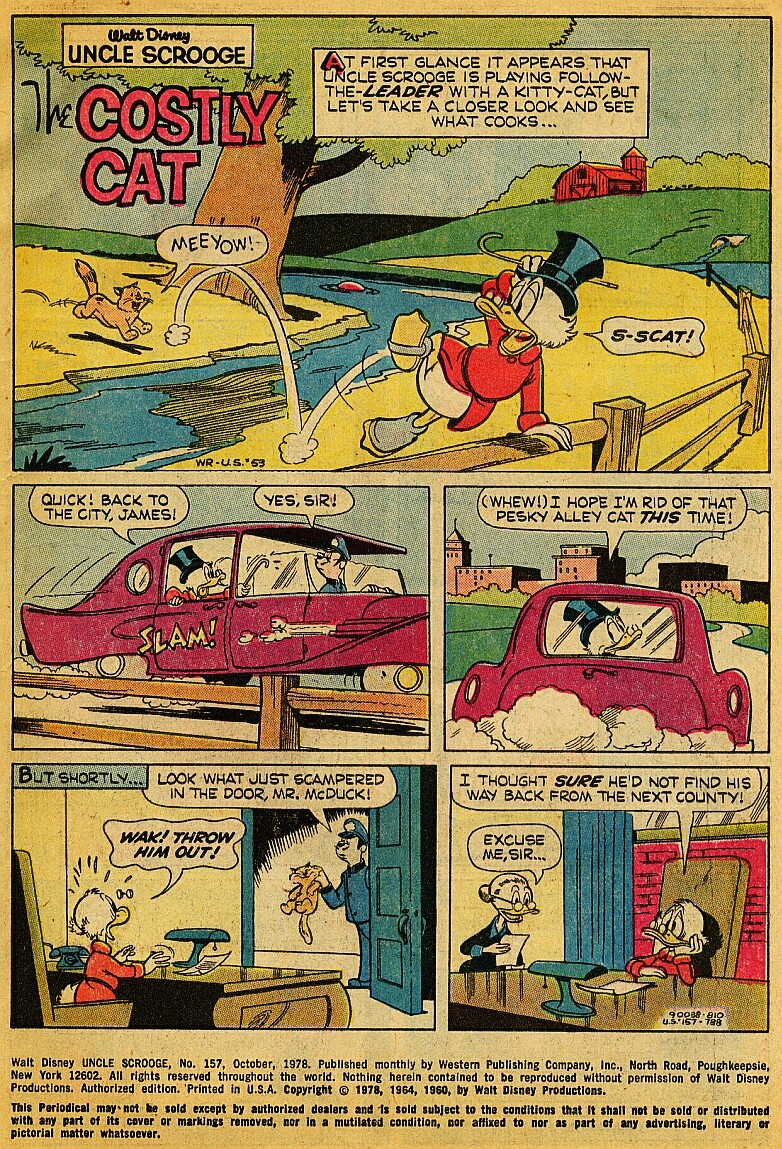 Read online Uncle Scrooge (1953) comic -  Issue #157 - 3