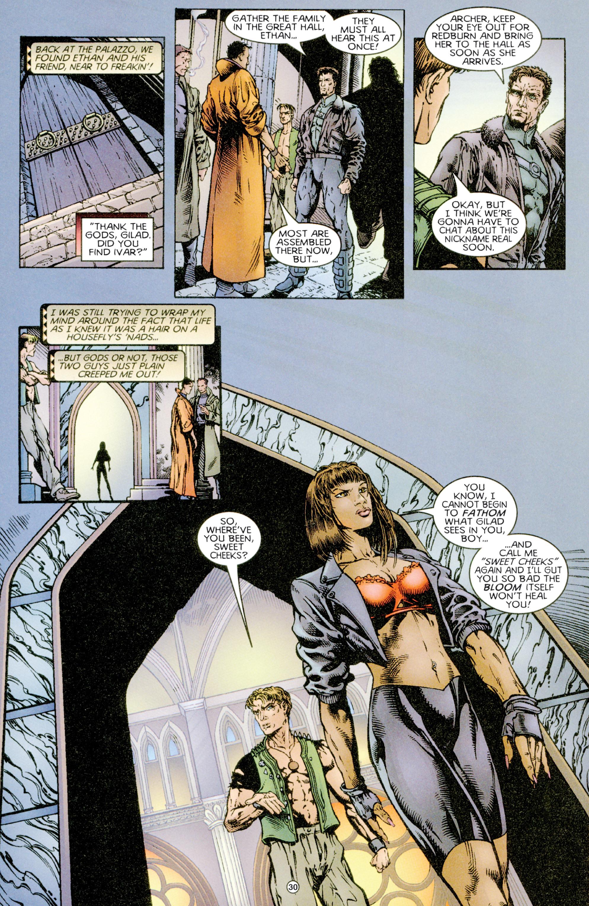 Read online Eternal Warriors comic -  Issue # Issue Time & Treachery - 29