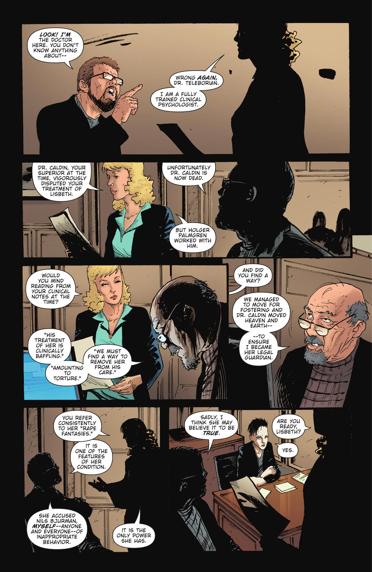 Read online The Girl Who Kicked The Hornet's Nest comic -  Issue # TPB - 246
