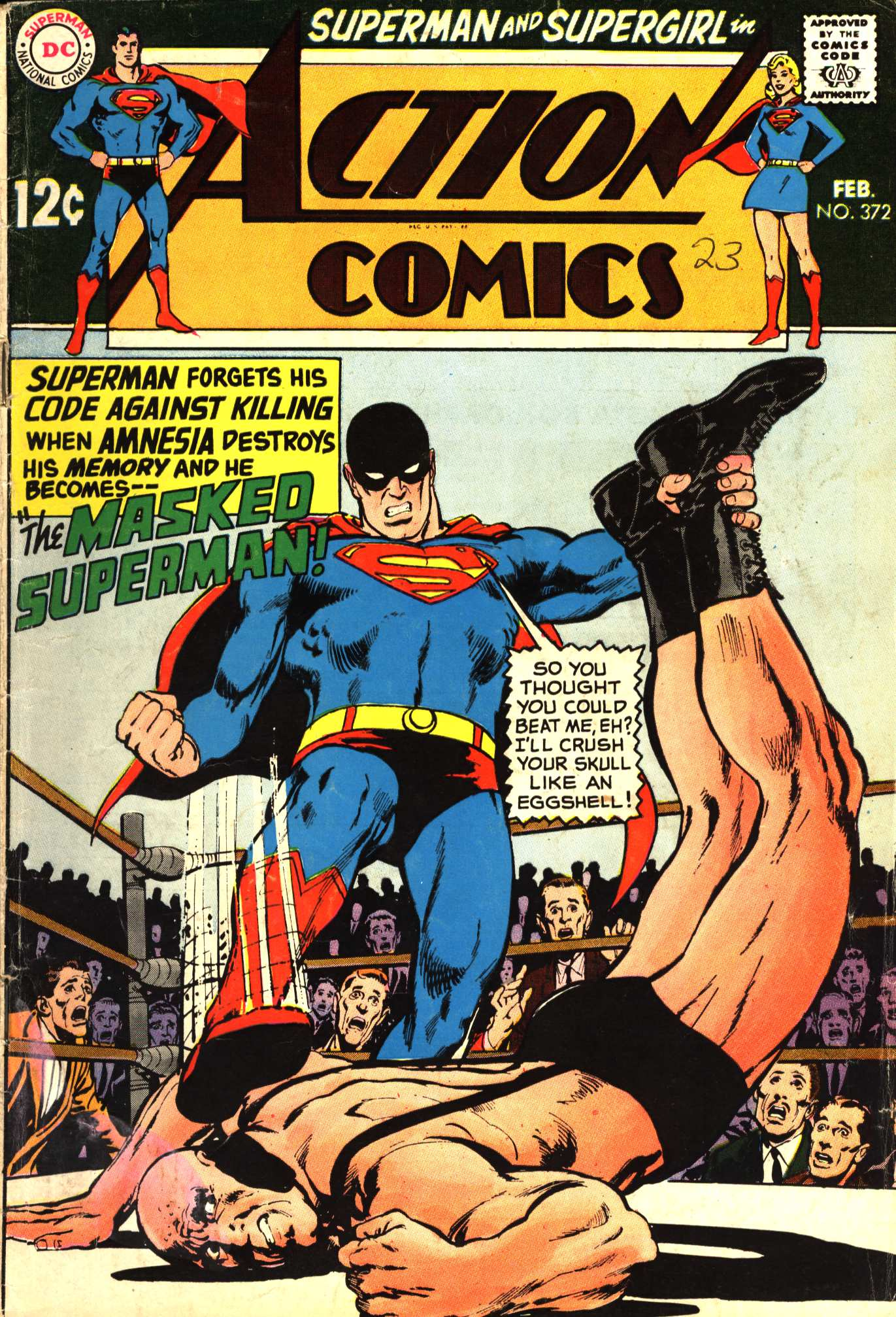 Read online Action Comics (1938) comic -  Issue #372 - 1