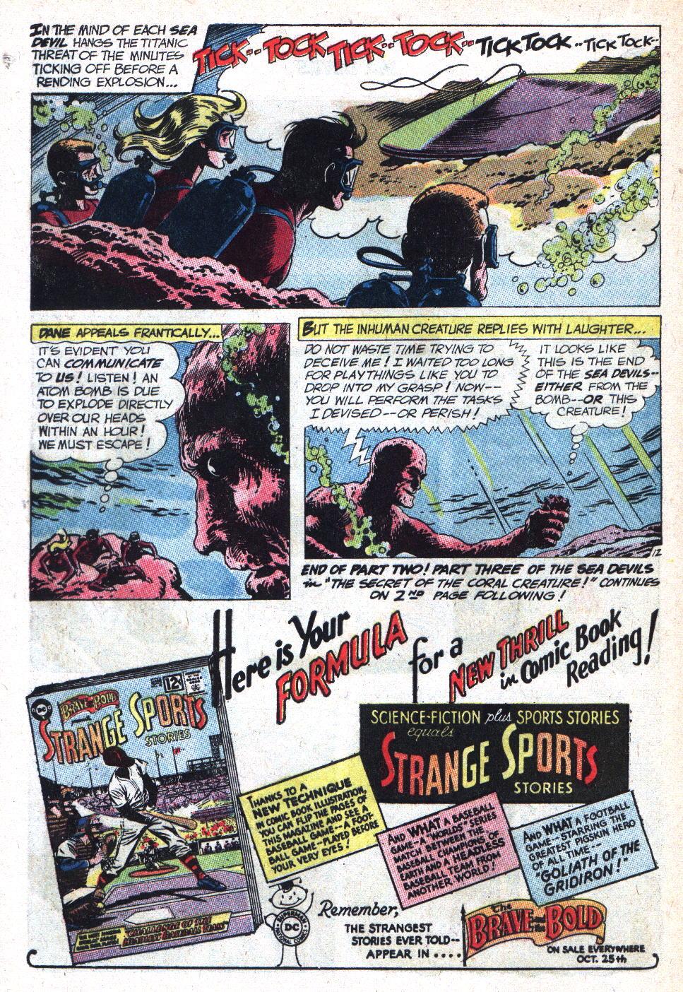 Read online Sea Devils comic -  Issue #9 - 17