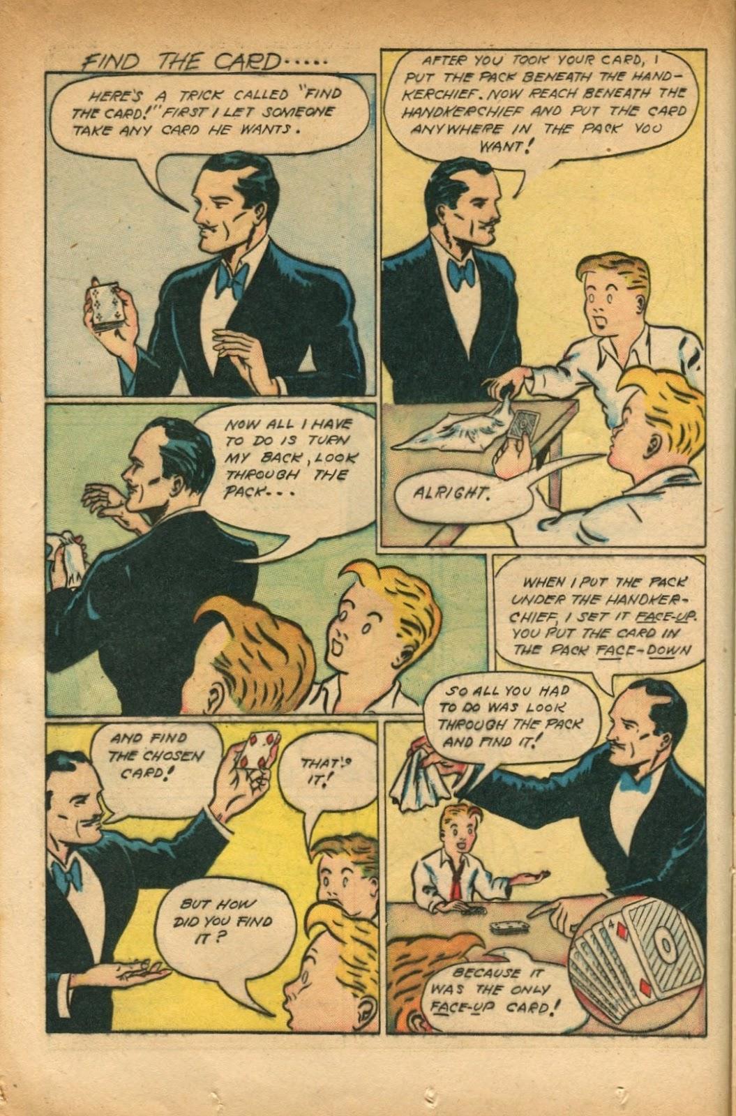 Read online Super-Magician Comics comic -  Issue #51 - 20