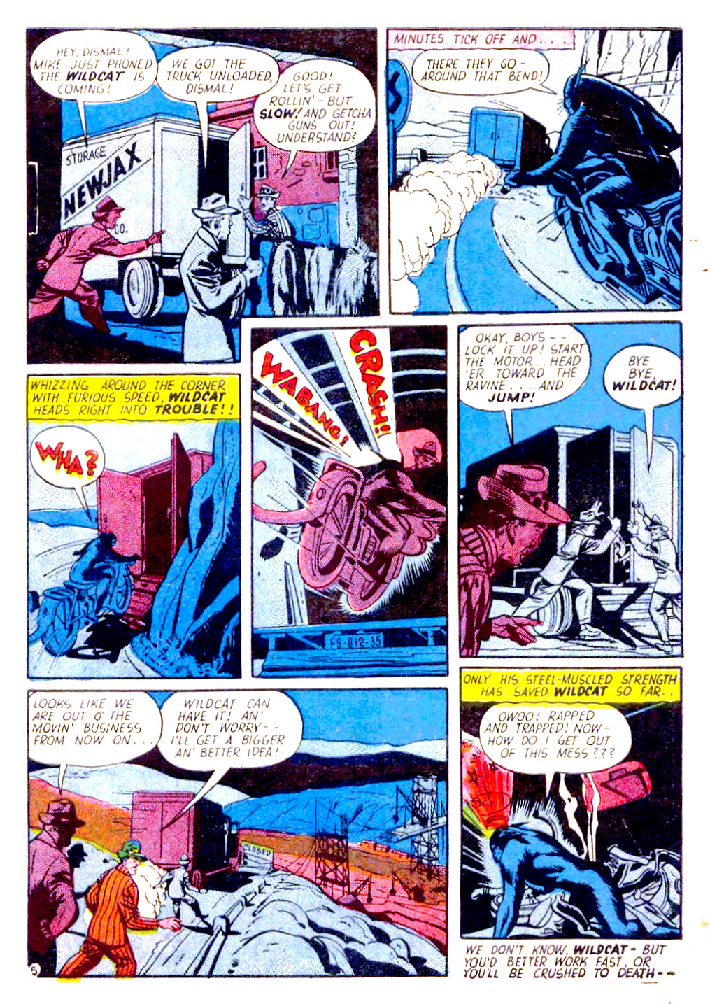 Read online Sensation (Mystery) Comics comic -  Issue #29 - 53