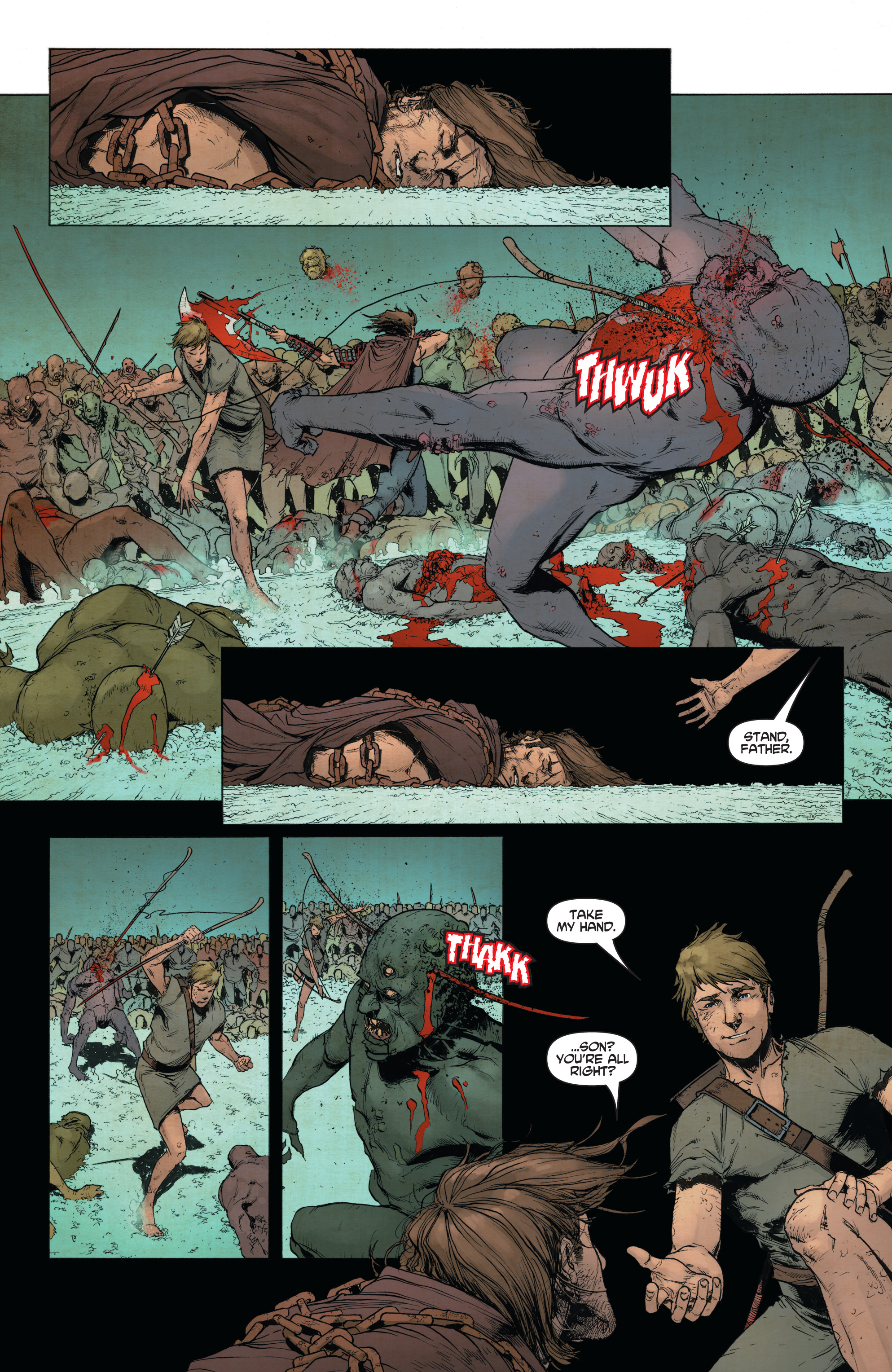 Read online Wrath of the Eternal Warrior comic -  Issue #14 - 13