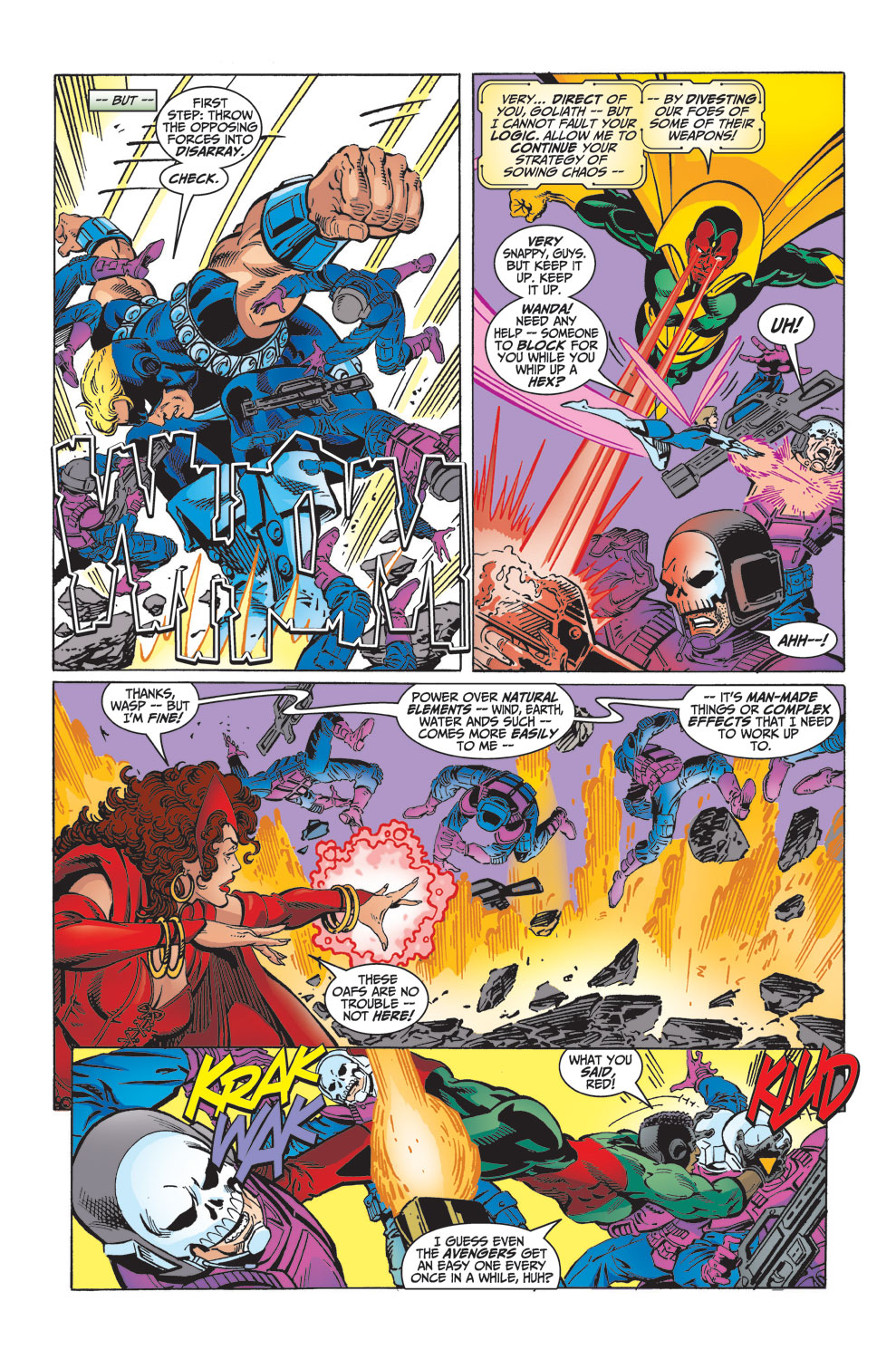 Read online Avengers (1998) comic -  Issue #32 - 19