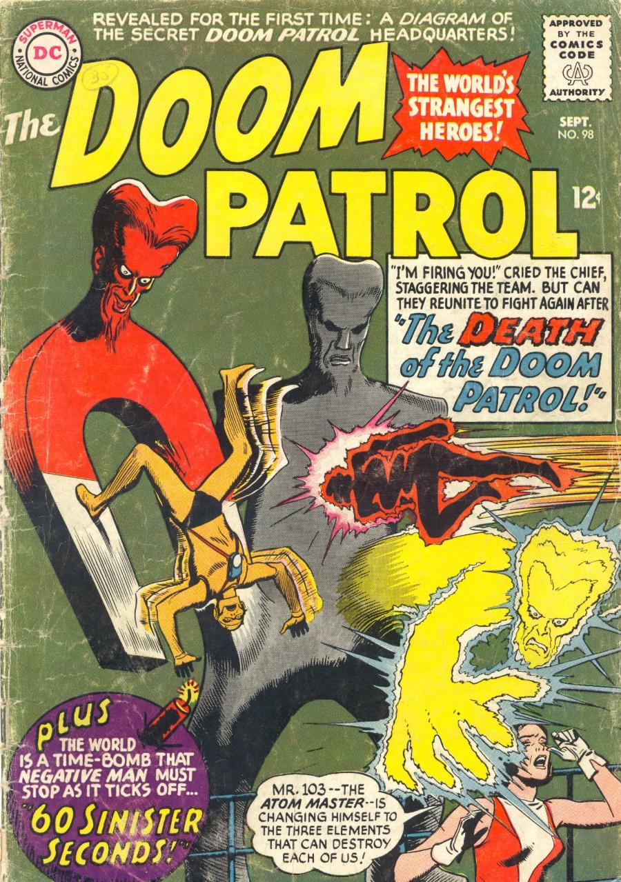 Doom Patrol (1964) issue 98 - Page 1