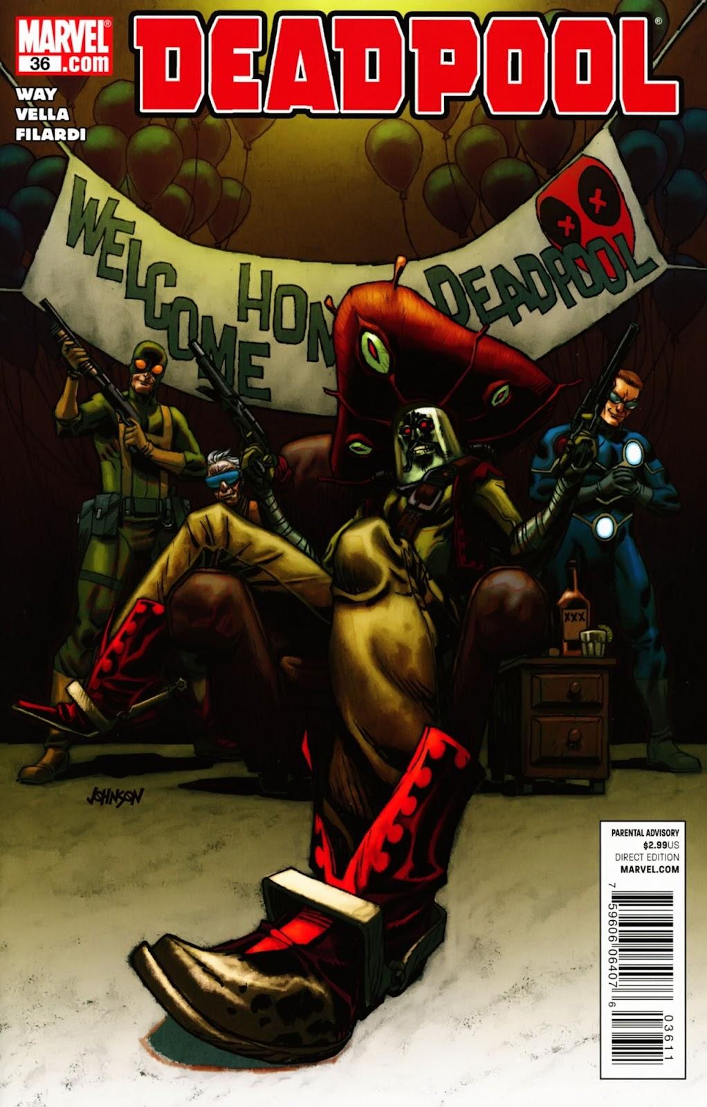 Read online Deadpool (2008) comic -  Issue #36 - 1