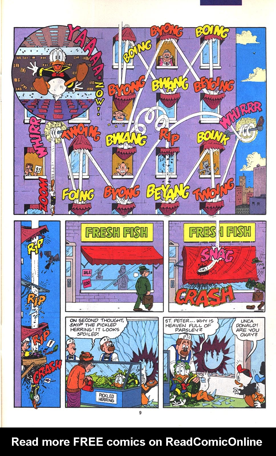 Read online Uncle Scrooge (1953) comic -  Issue #268 - 31