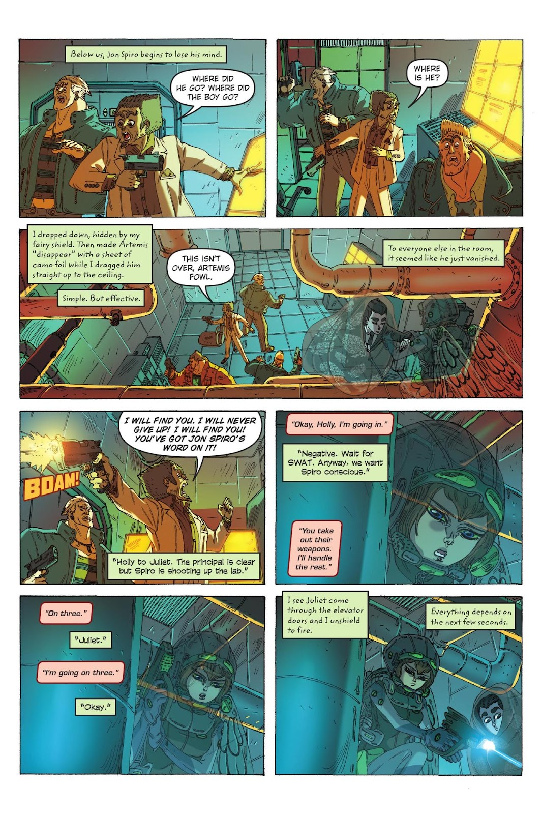 Artemis Fowl: The Eternity Code issue TPB - Page 100
