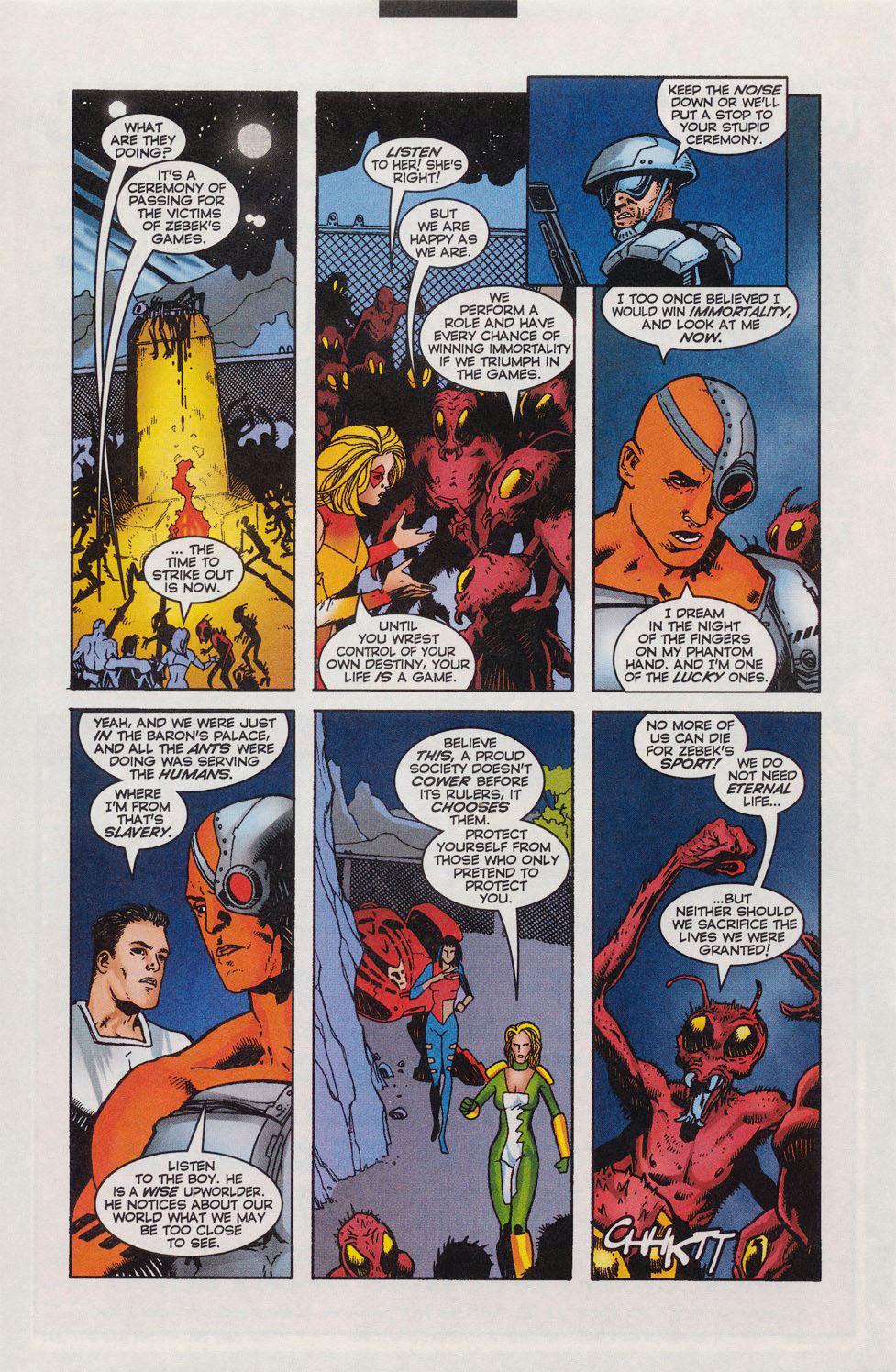 Read online Alpha Flight (1997) comic -  Issue #11 - 13