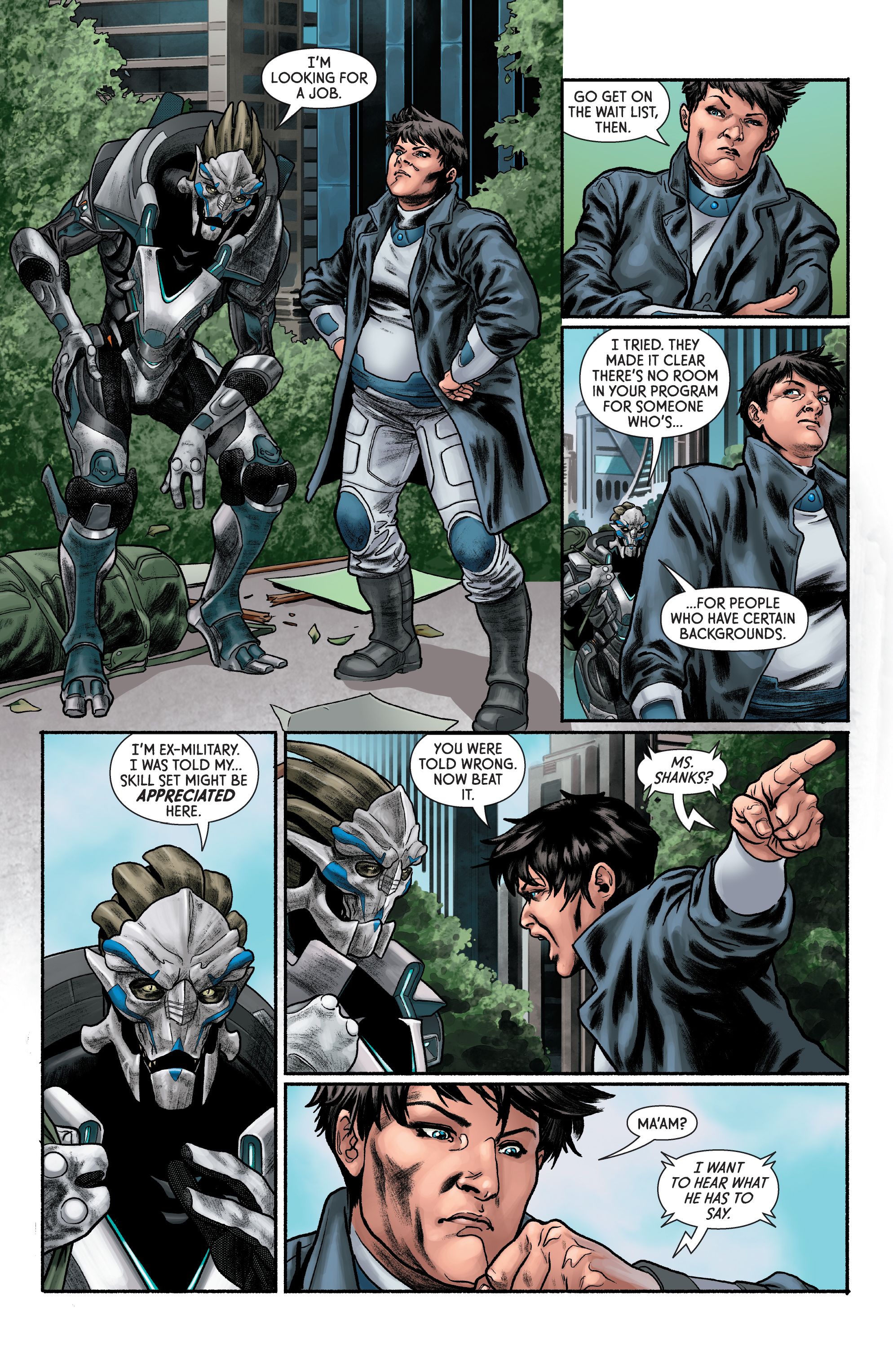 Read online Mass Effect: Discovery comic -  Issue #1 - 16