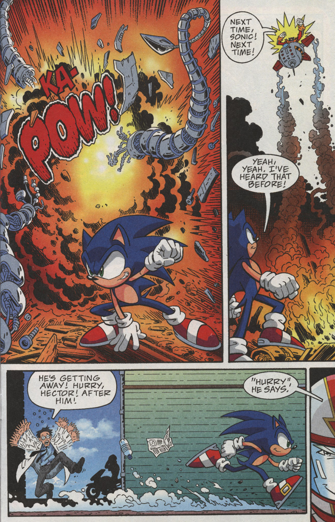 Read online Sonic X comic -  Issue #38 - 11