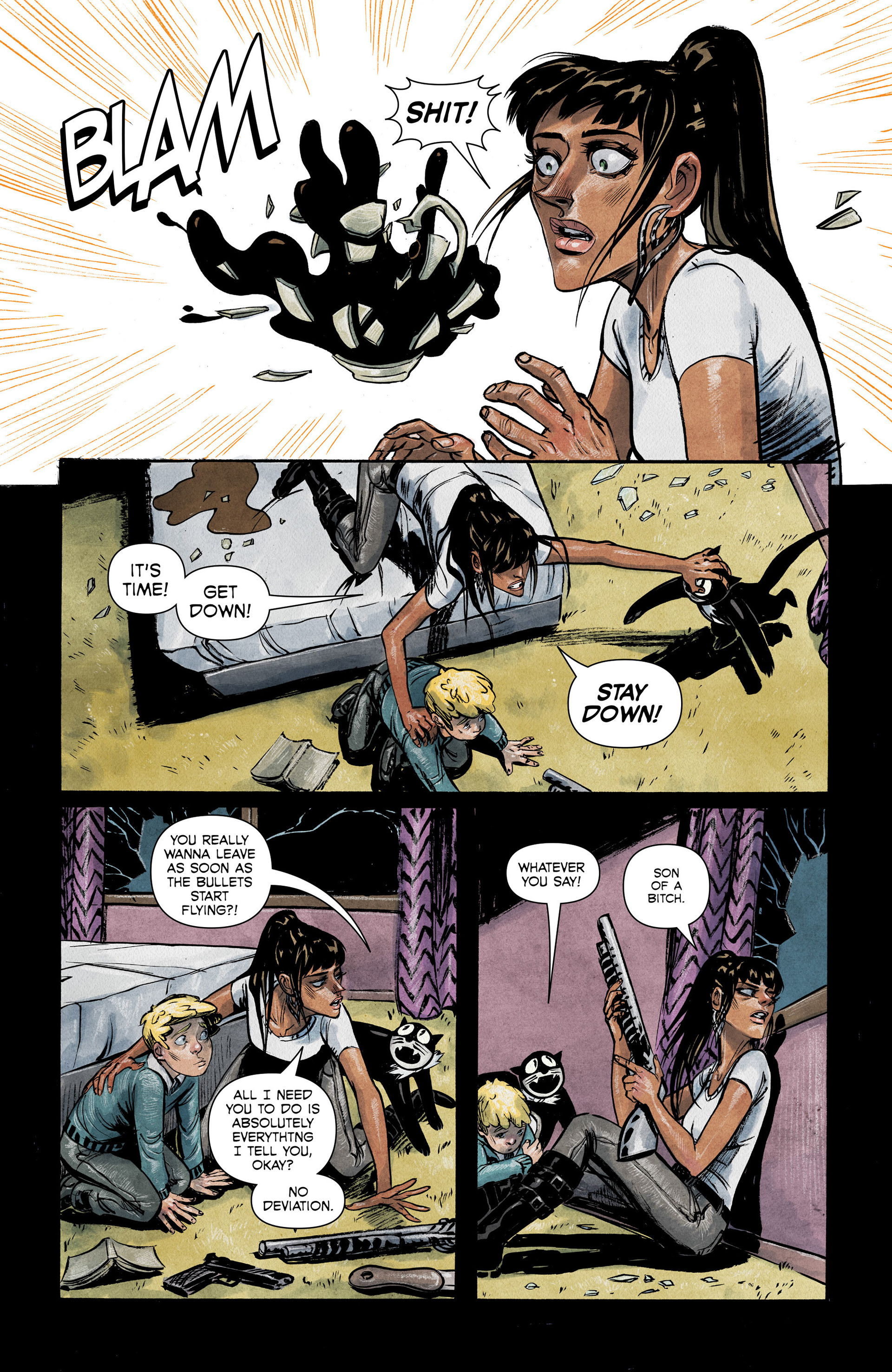 Read online Shutter comic -  Issue #6 - 9