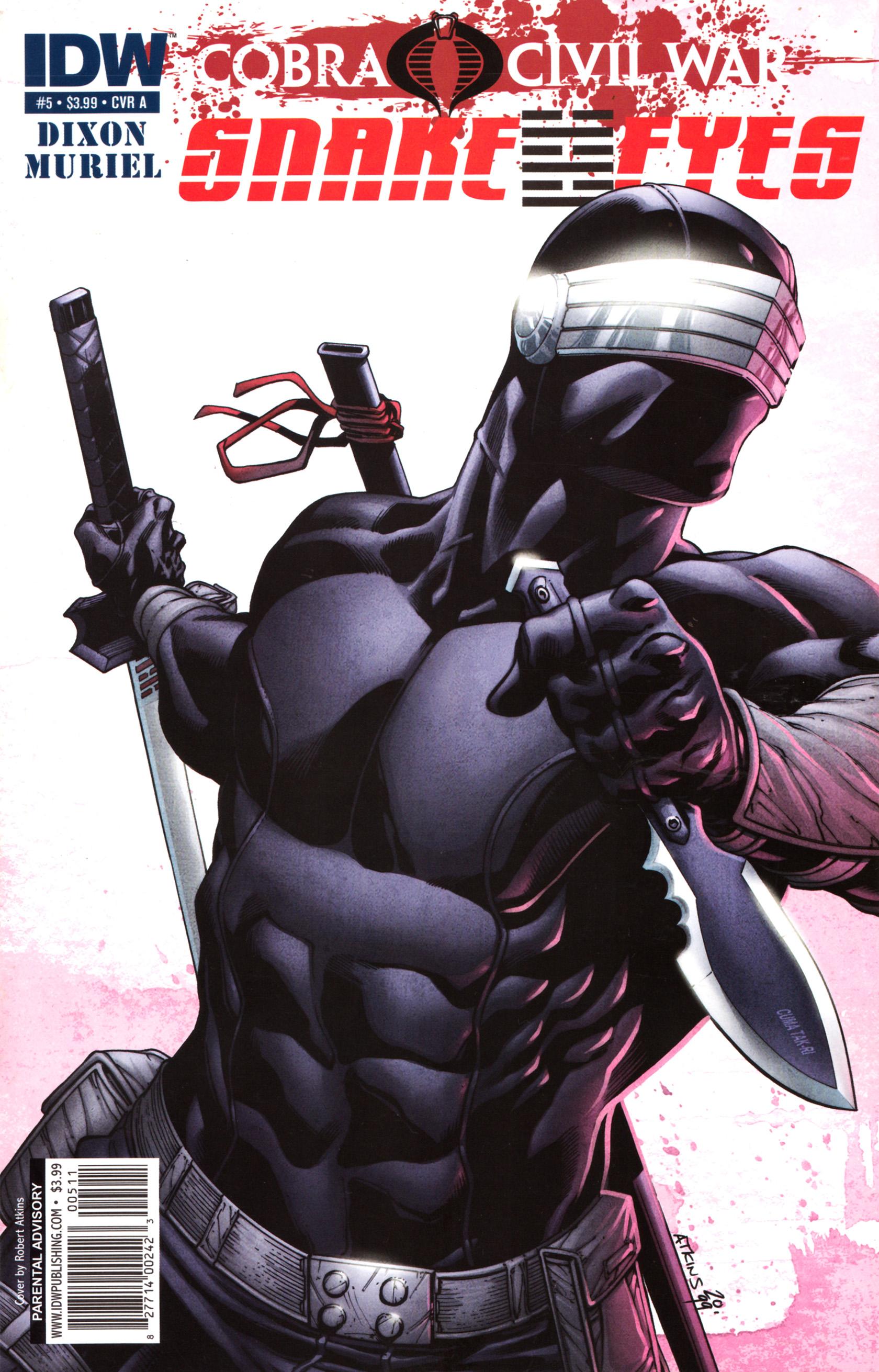 Read online G.I. Joe: Snake Eyes comic -  Issue #5 - 1
