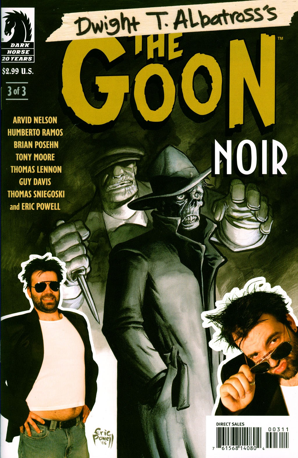 The Goon - Noir issue 3 - Page 1