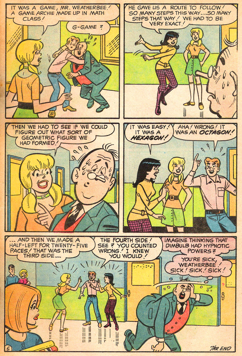Read online Archie's Girls Betty and Veronica comic -  Issue #185 - 33