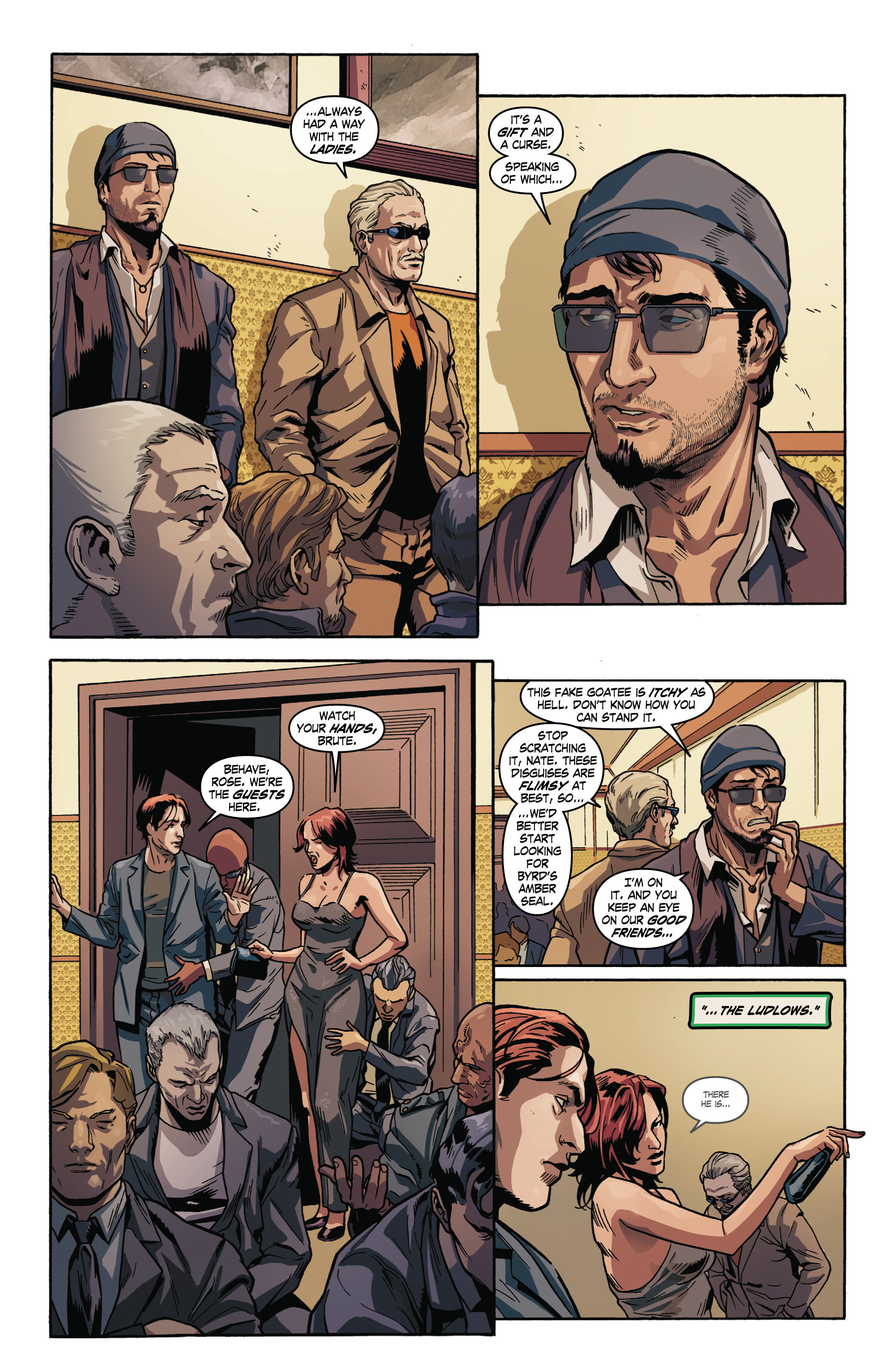 Read online Uncharted comic -  Issue #2 - 6