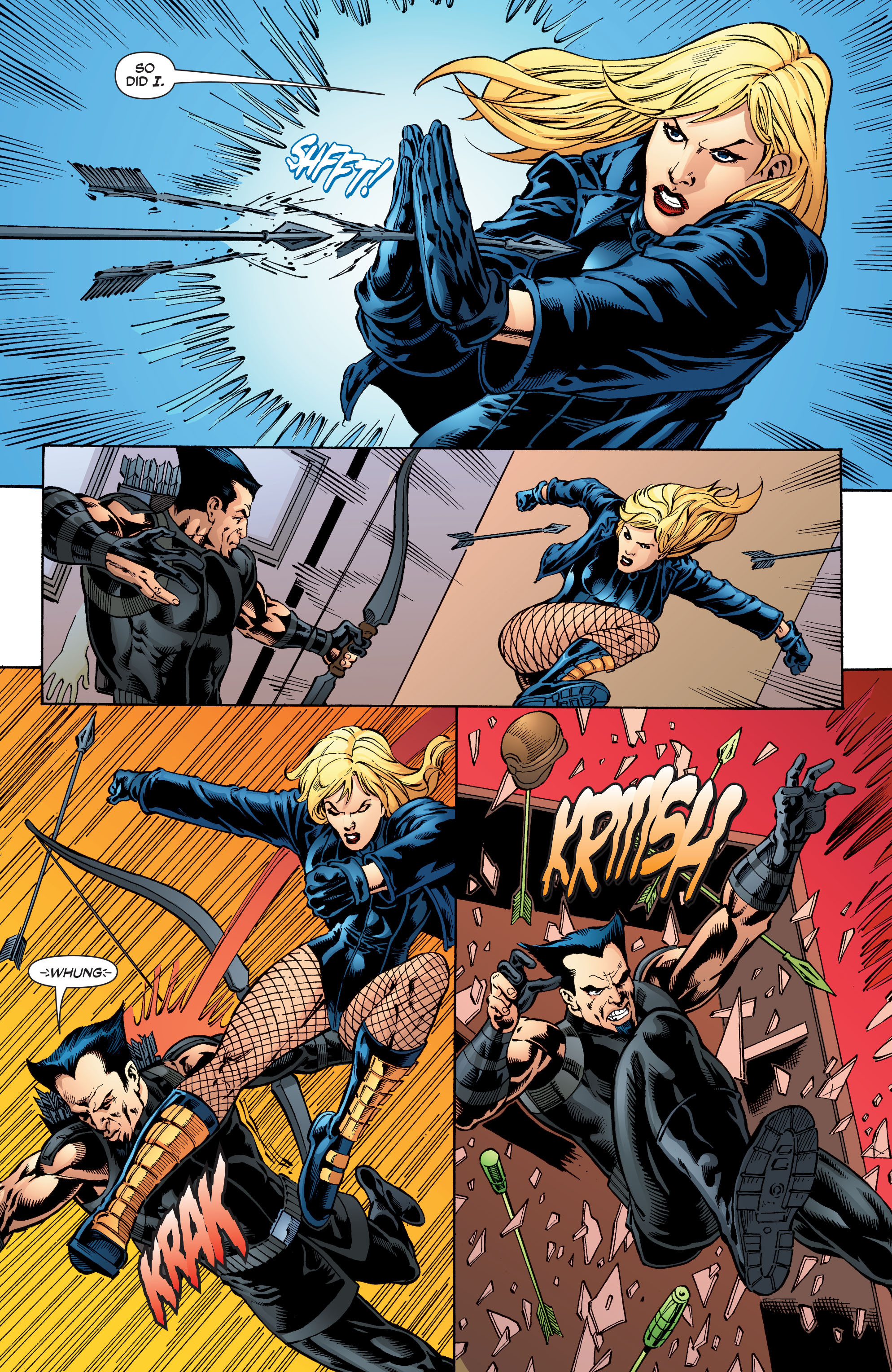 Read online Black Canary (2007) comic -  Issue #3 - 14