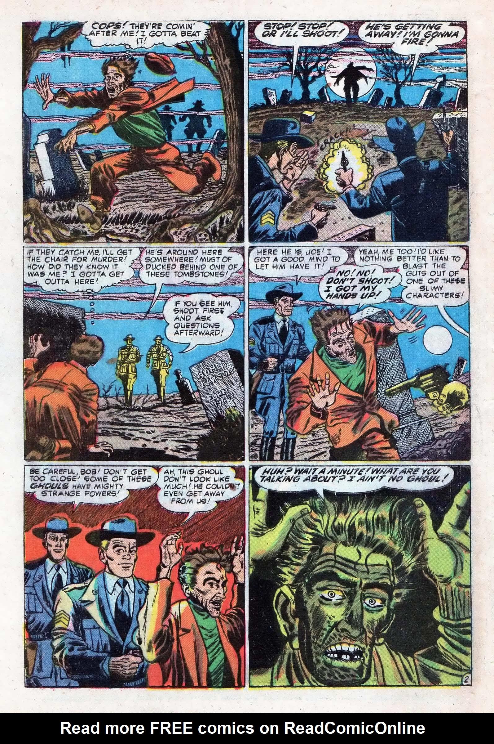 Read online Adventures into Weird Worlds comic -  Issue #10 - 3
