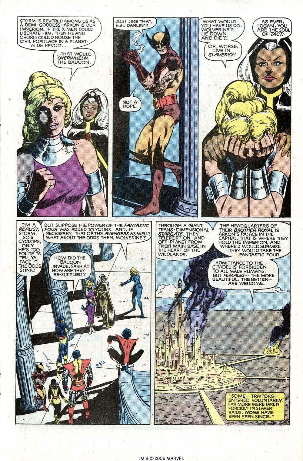 Read online Uncanny X-Men (1963) comic -  Issue # _Annual 5 - 21