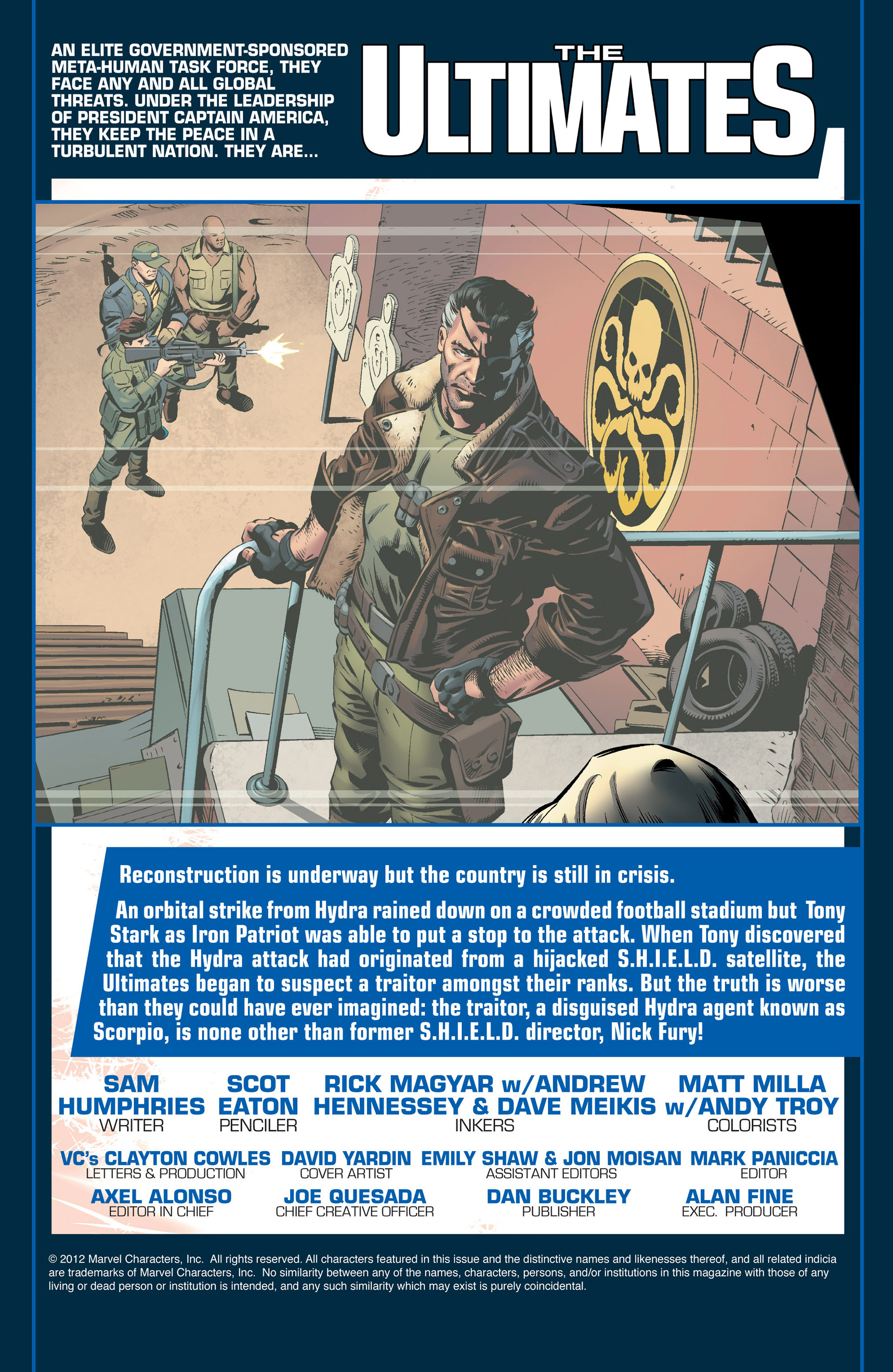 Read online Ultimate Comics Ultimates comic -  Issue #20 - 2