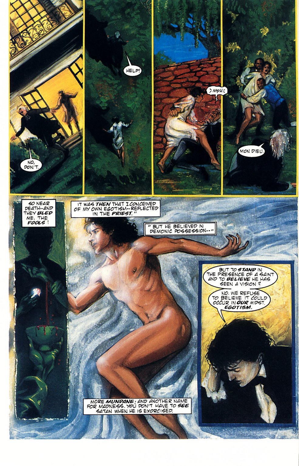 Read online Anne Rice's Interview with the Vampire comic -  Issue #1 - 12