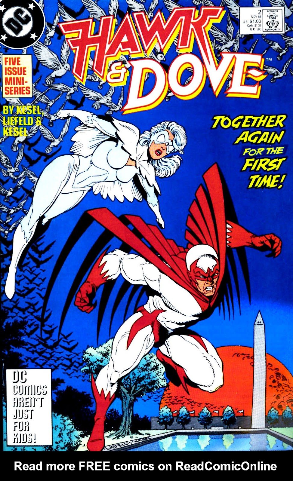 Hawk and Dove (1988) 2 Page 1