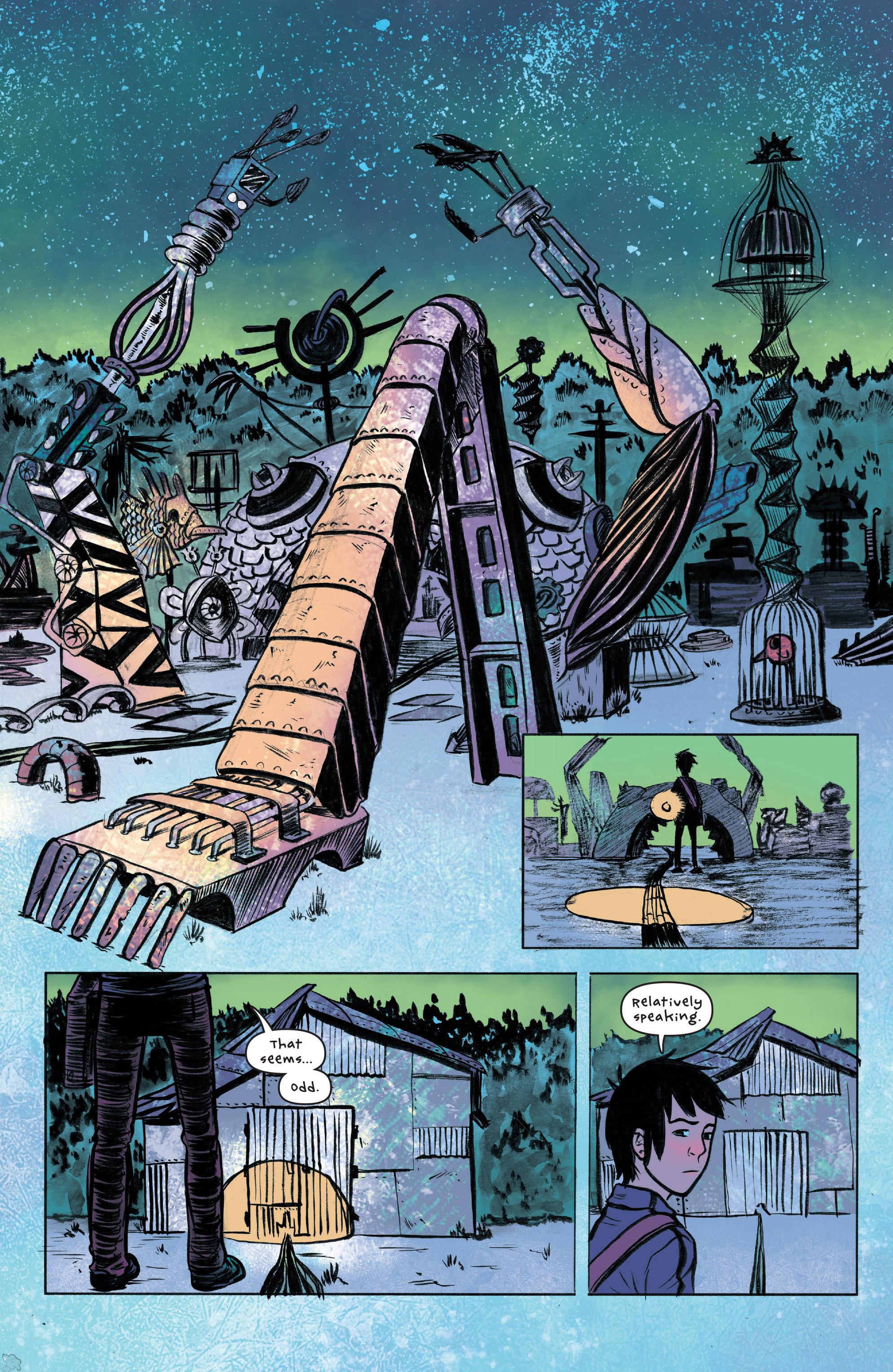 Read online UFOlogy comic -  Issue #2 - 23