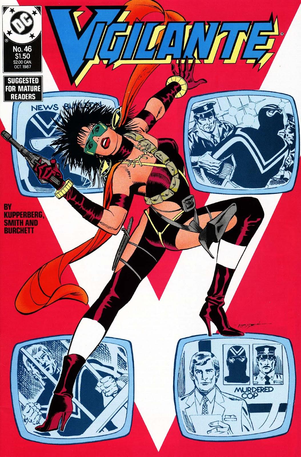 Vigilante (1983) issue 46 - Page 1