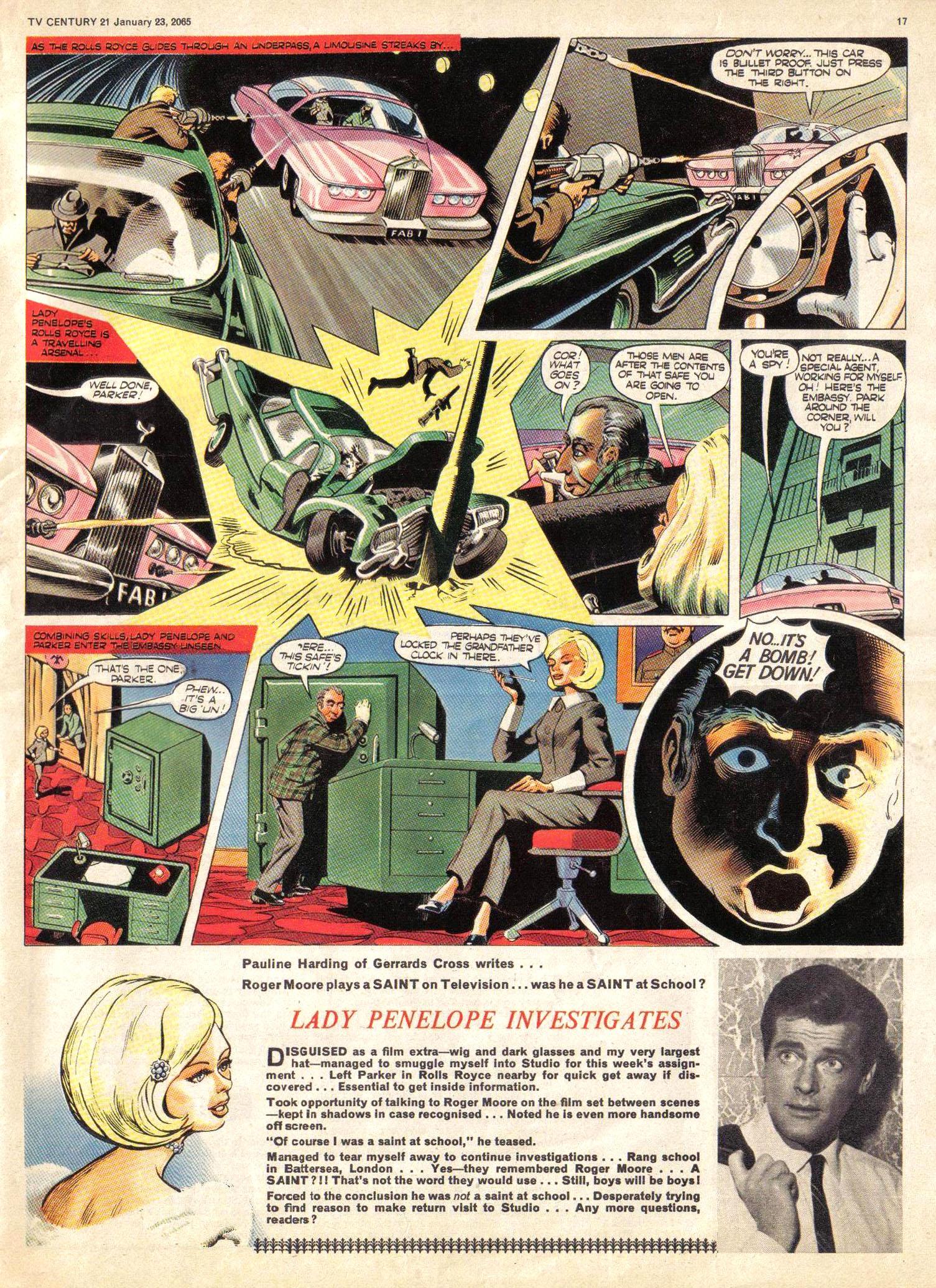 Read online TV Century 21 (TV 21) comic -  Issue #1 - 16