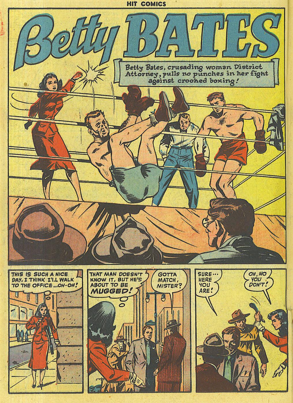 Read online Hit Comics comic -  Issue #56 - 32