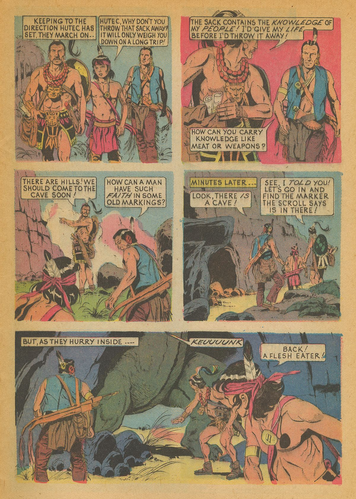 Read online Turok, Son of Stone comic -  Issue #85 - 5