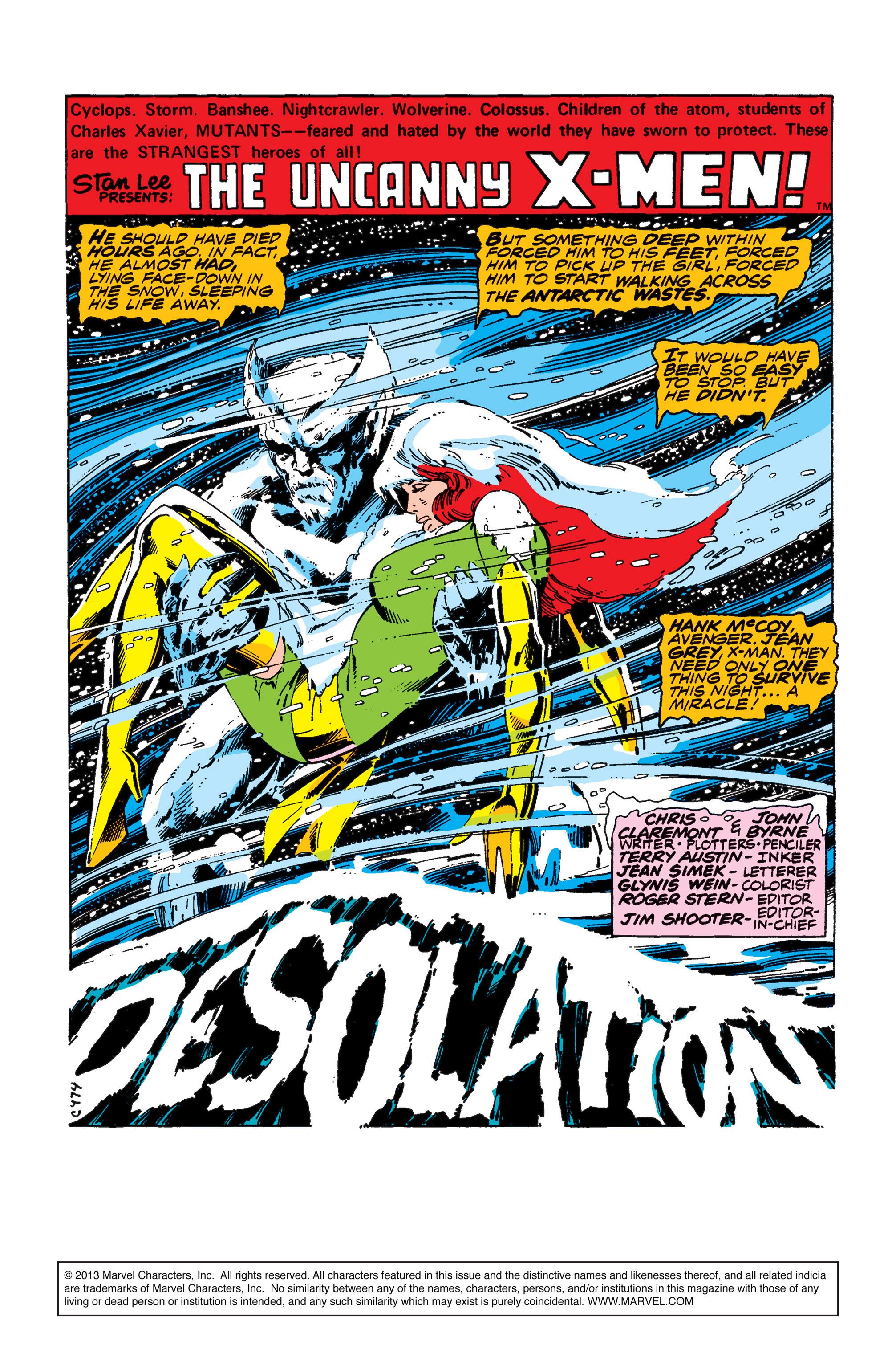 Uncanny X-Men (1963) 114 Page 1