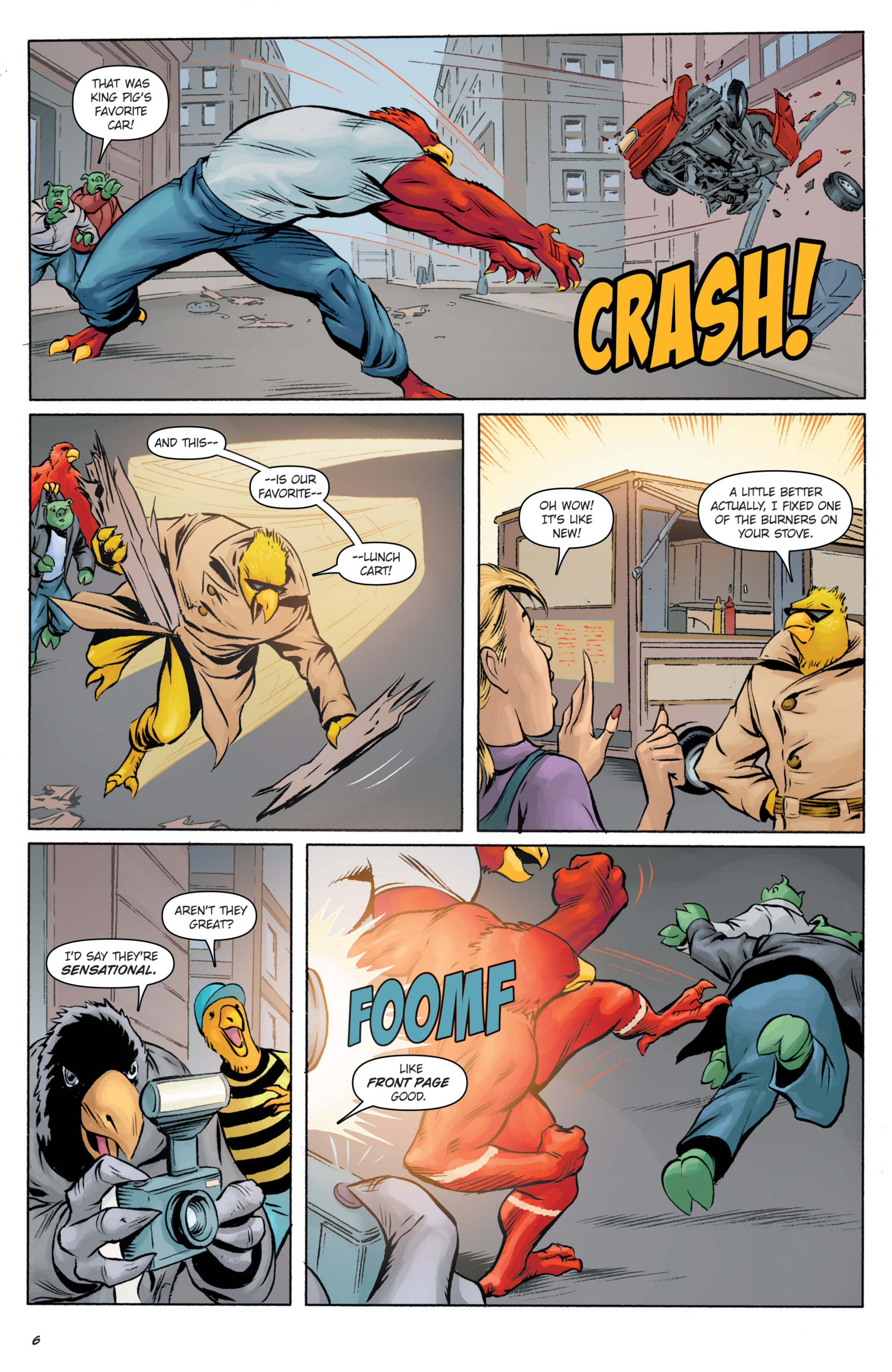Read online Angry Birds Comics (2016) comic -  Issue #5 - 30