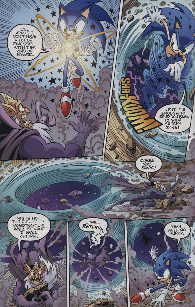 Read online Sonic the Hedgehog Free Comic Book Day Edition comic -  Issue # Special 5 - 22