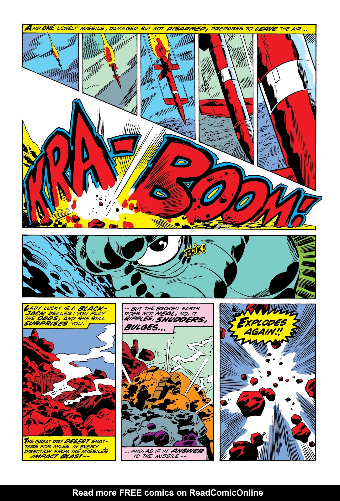 Read online Marvel Masterworks: The Incredible Hulk comic -  Issue # TPB 9 (Part 1) - 56