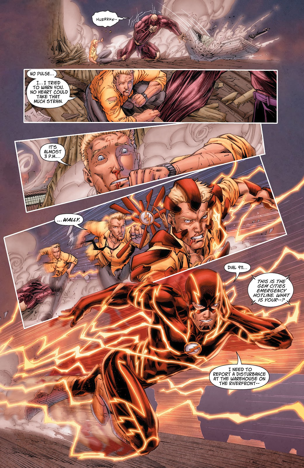 Read online The Flash (2011) comic -  Issue # _TPB 6 (Part 2) - 13