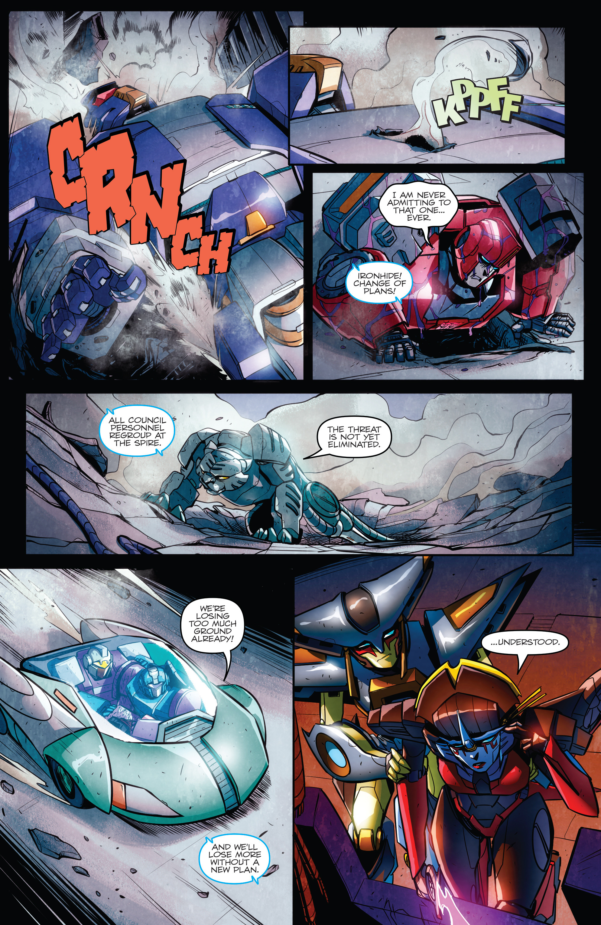 Read online Transformers: Till All Are One comic -  Issue #6 - 13