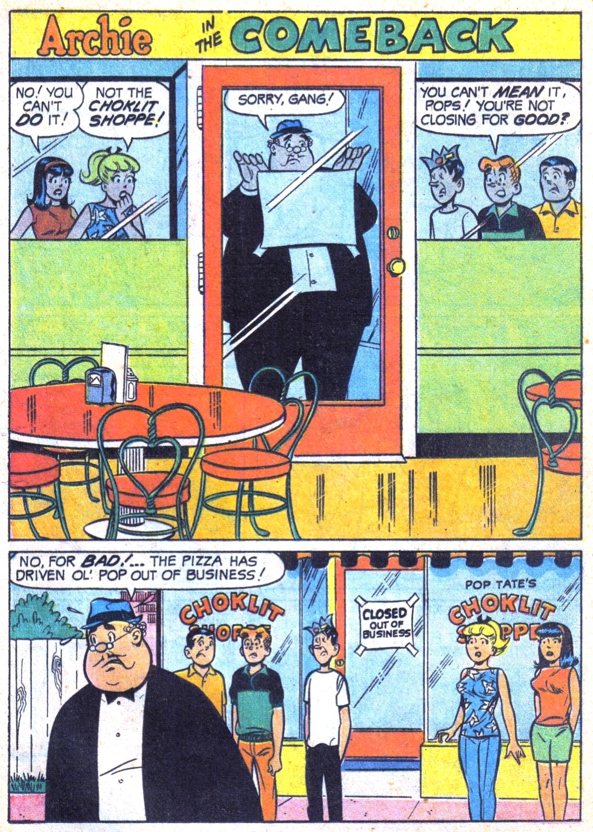 Read online Archie (1960) comic -  Issue #185 - 13